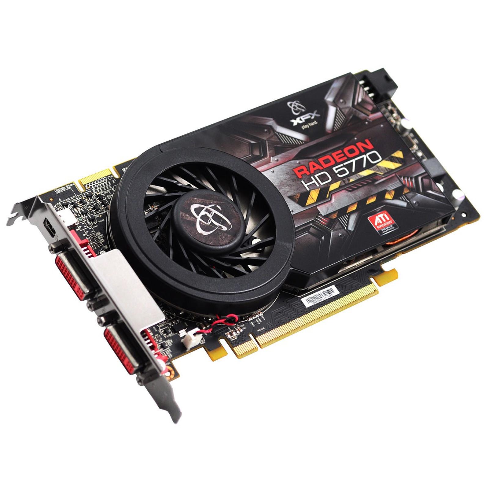 XFX ATI Radeon HD 5770 1 GB Single Slot