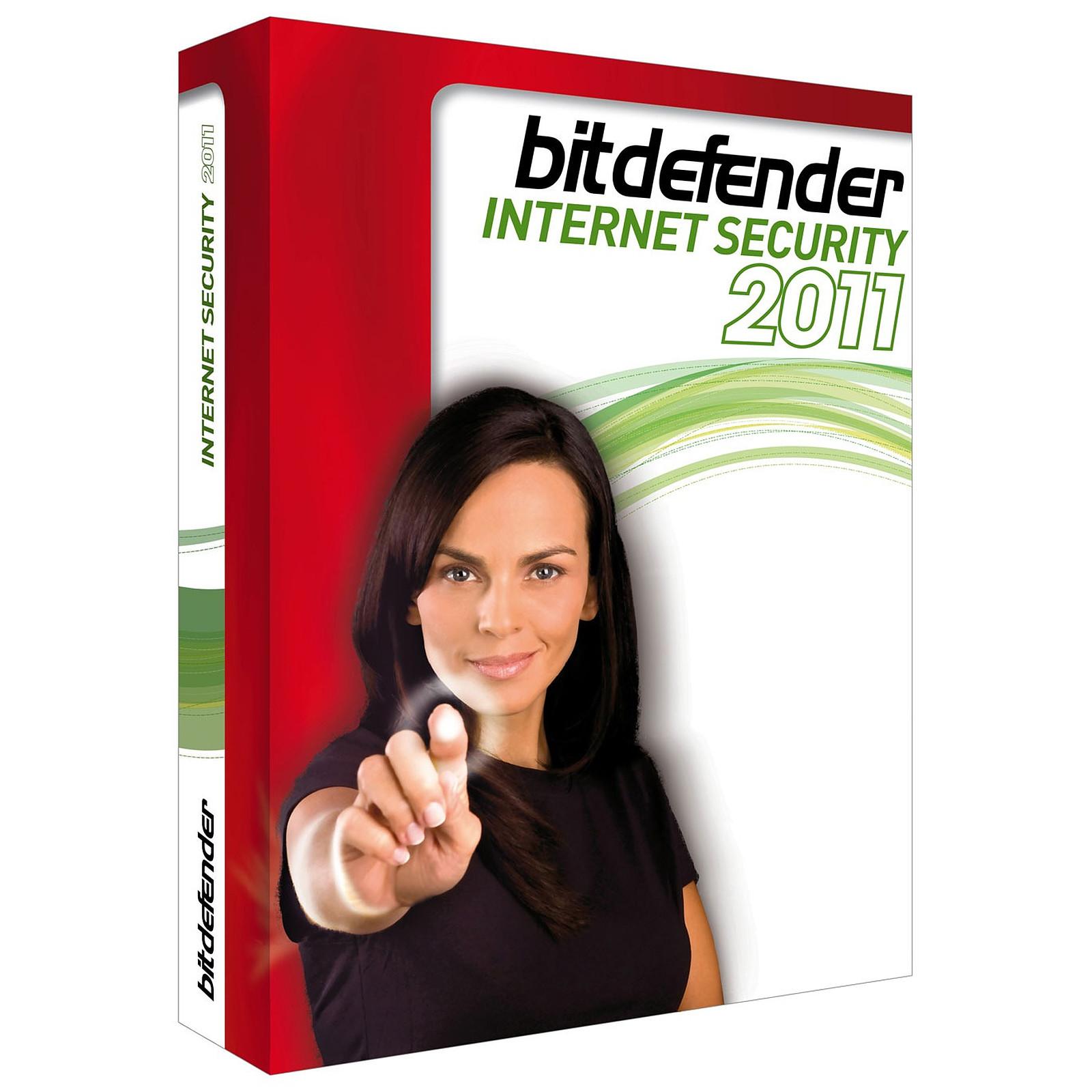 BitDefender Internet Security 2011 - Licence 1 an 3 postes