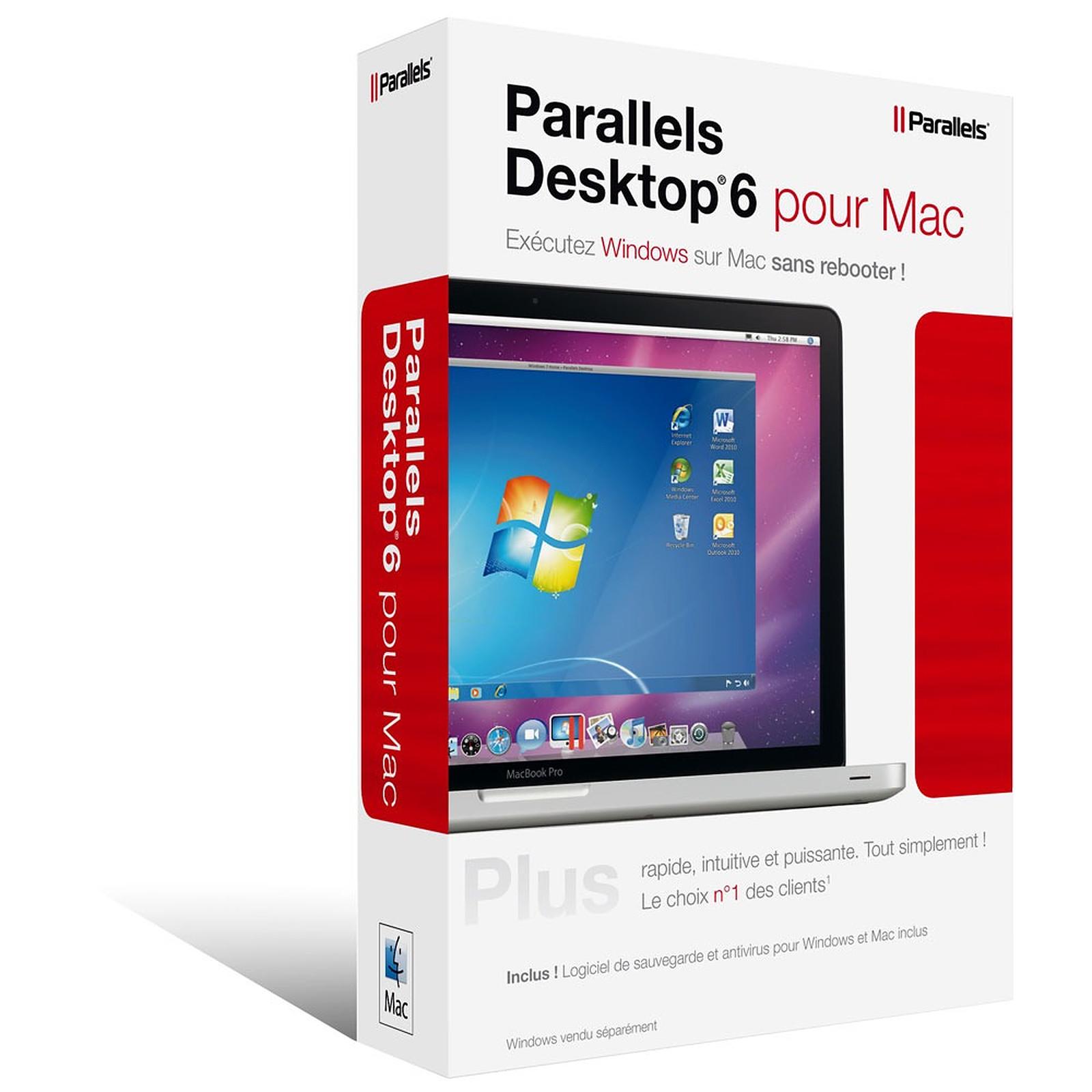 Parallels Desktop 6 pour Mac