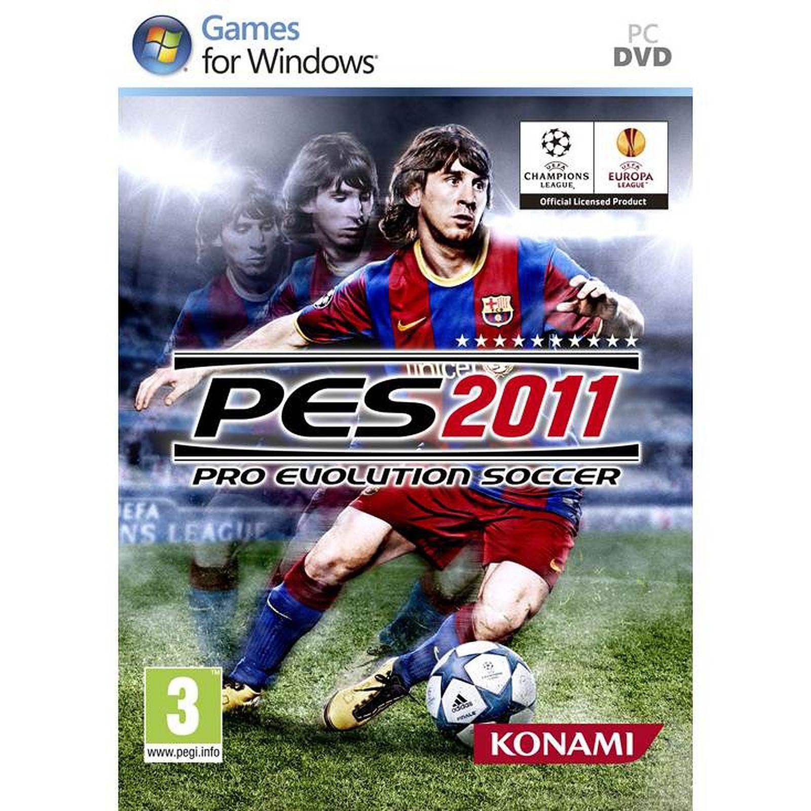 PES 11 : Pro Evolution Soccer 2011 (PC)