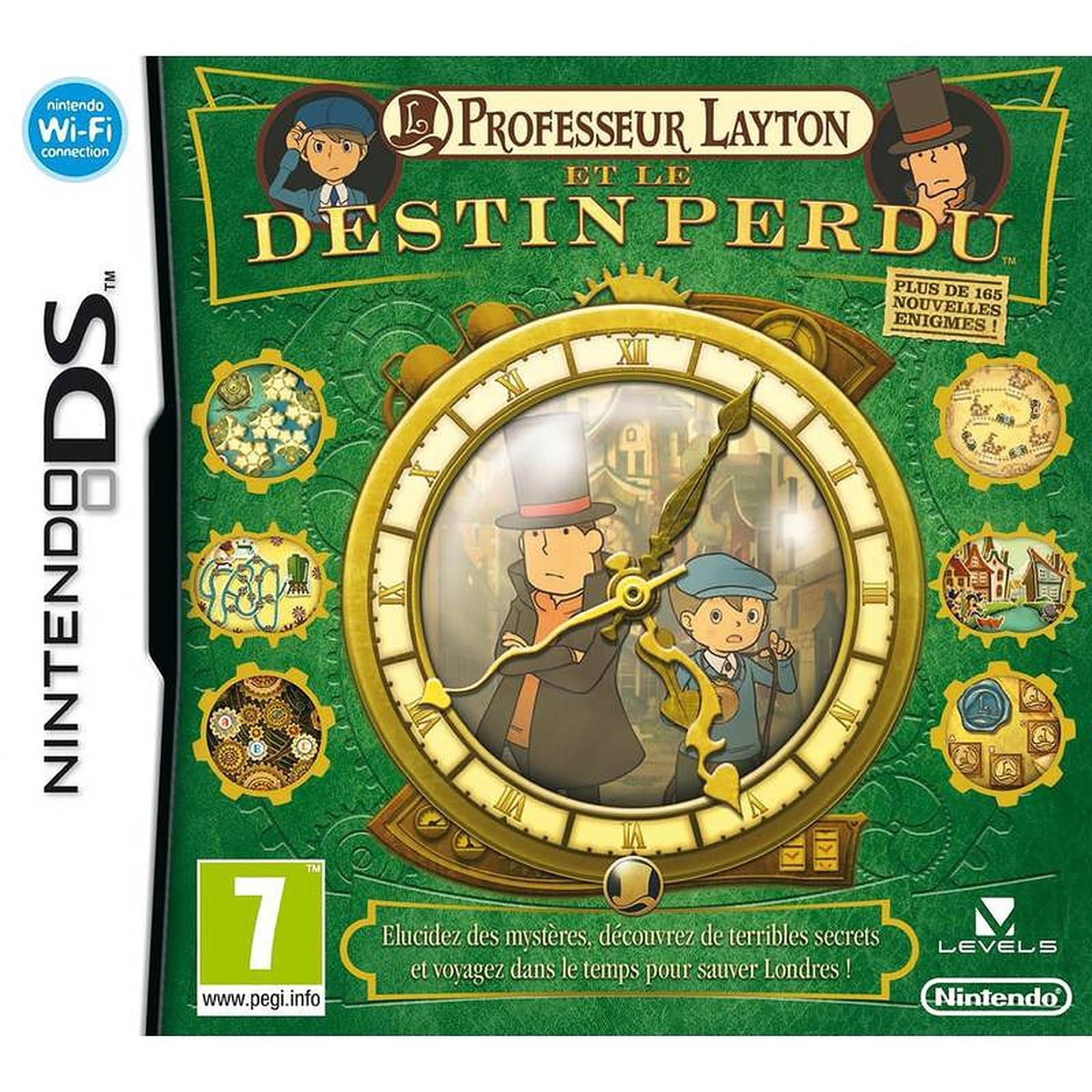 Professeur Layton et le Destin Perdu (DS)