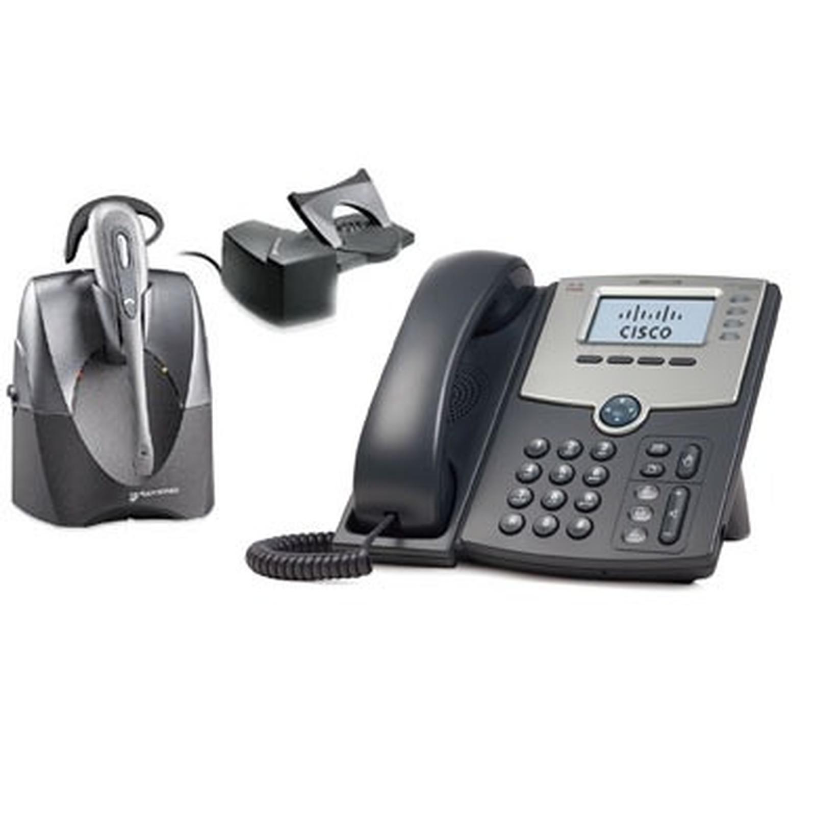 Cisco Small Business PRO SPA504G + Plantronics CS60 + Module de décrochage HL10