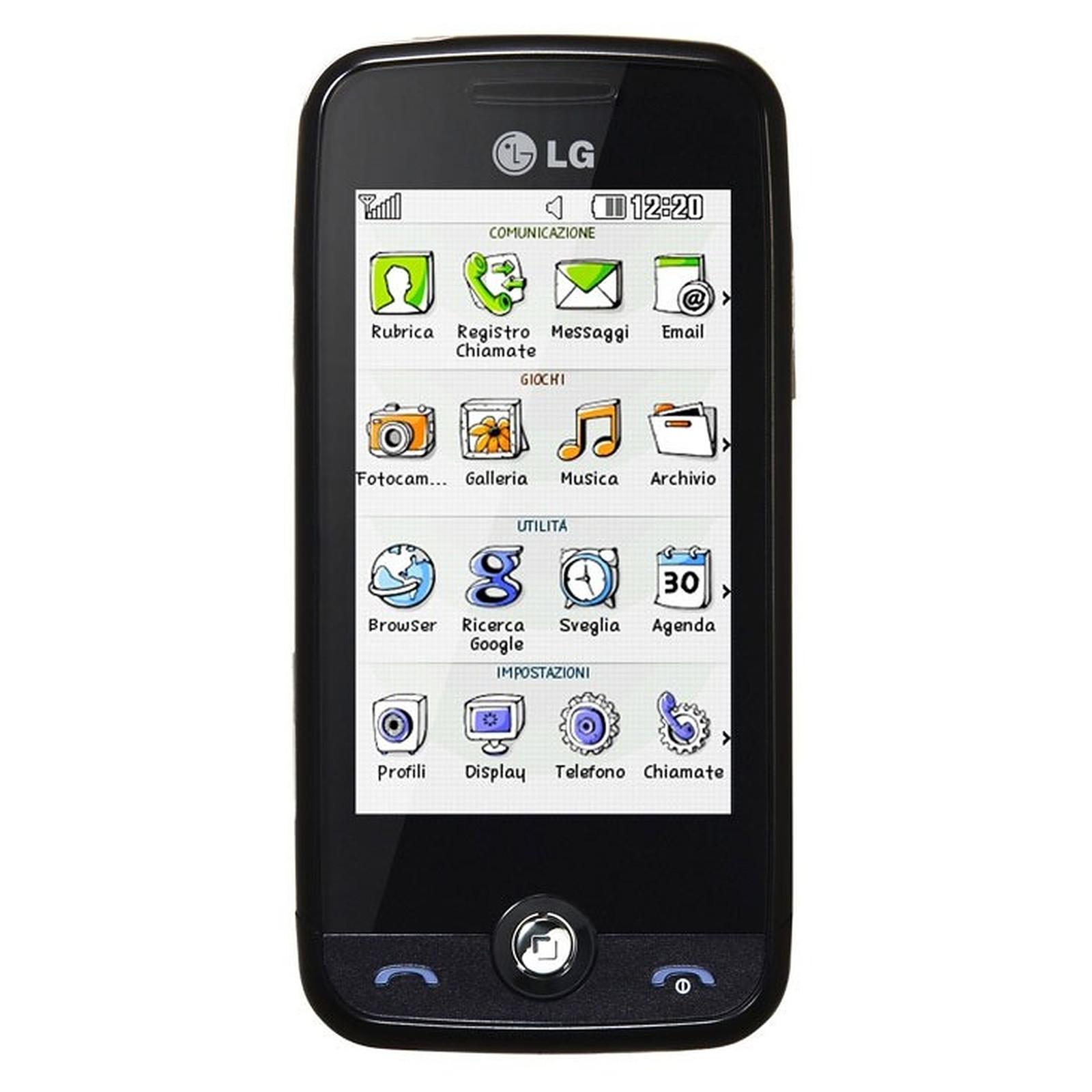 LG GS290 Cookie 2 Noir
