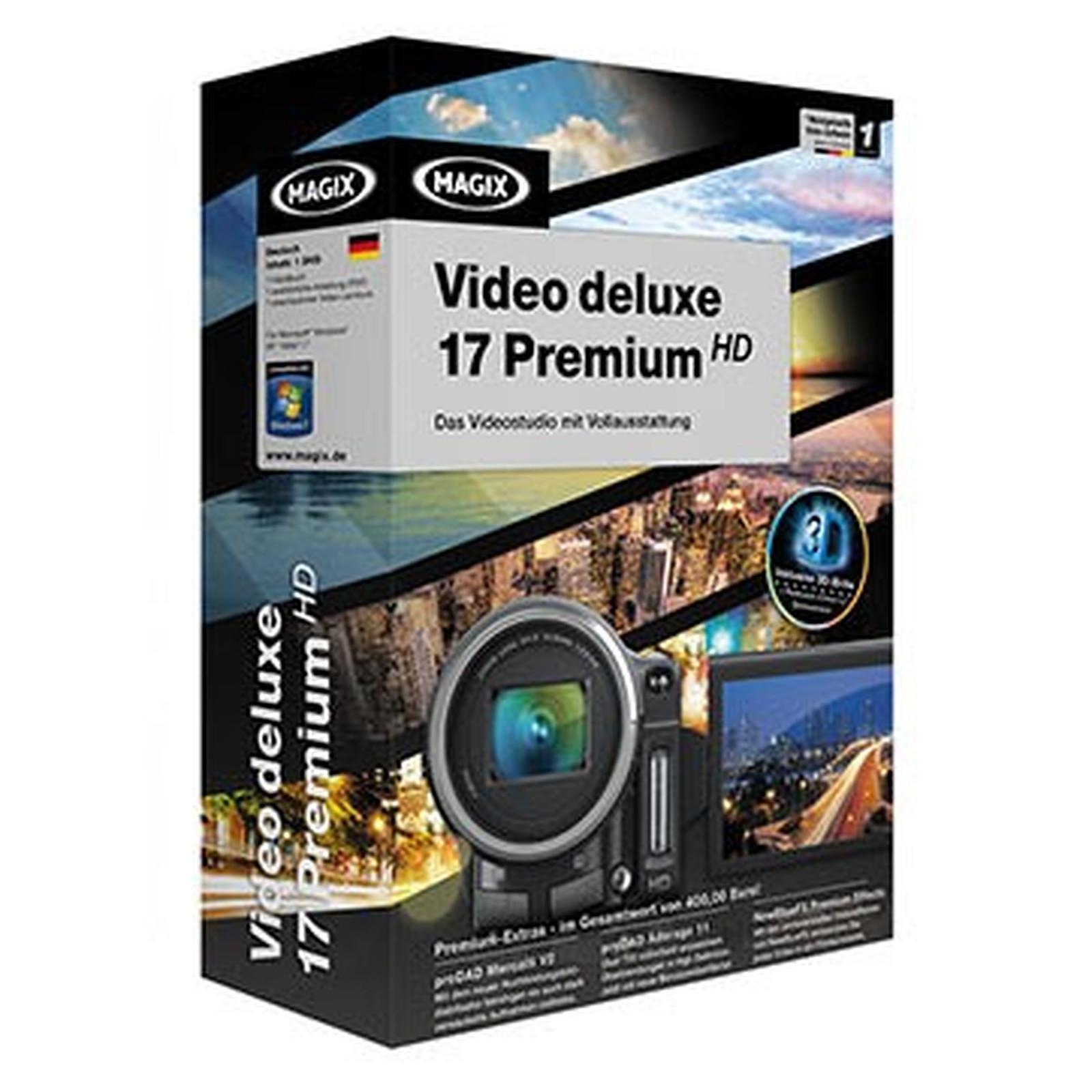 MAGIX Vidéo deluxe 17 Premium