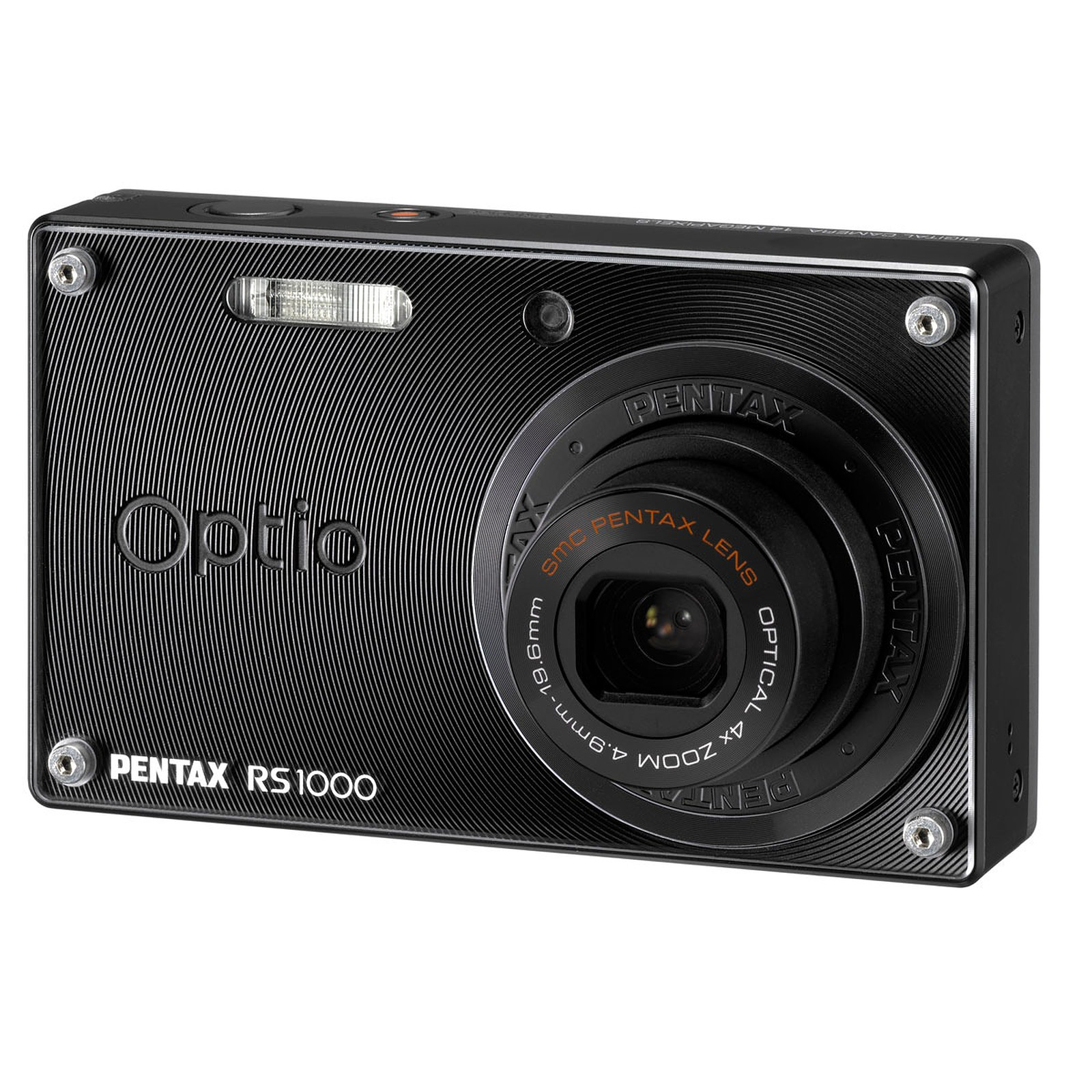 """Pentax Optio RS1000 """"Caméléon"""" Noir"""
