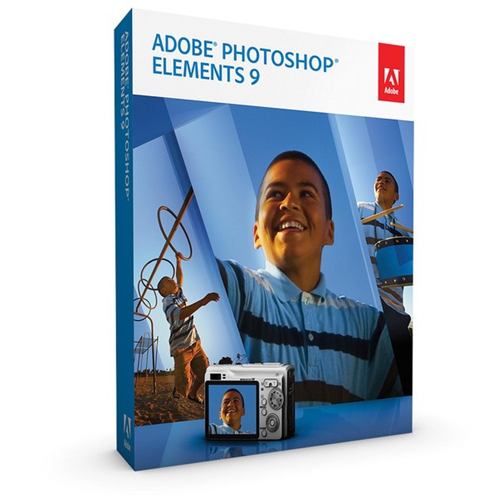Adobe Photoshop Elements 9 Mise à jour