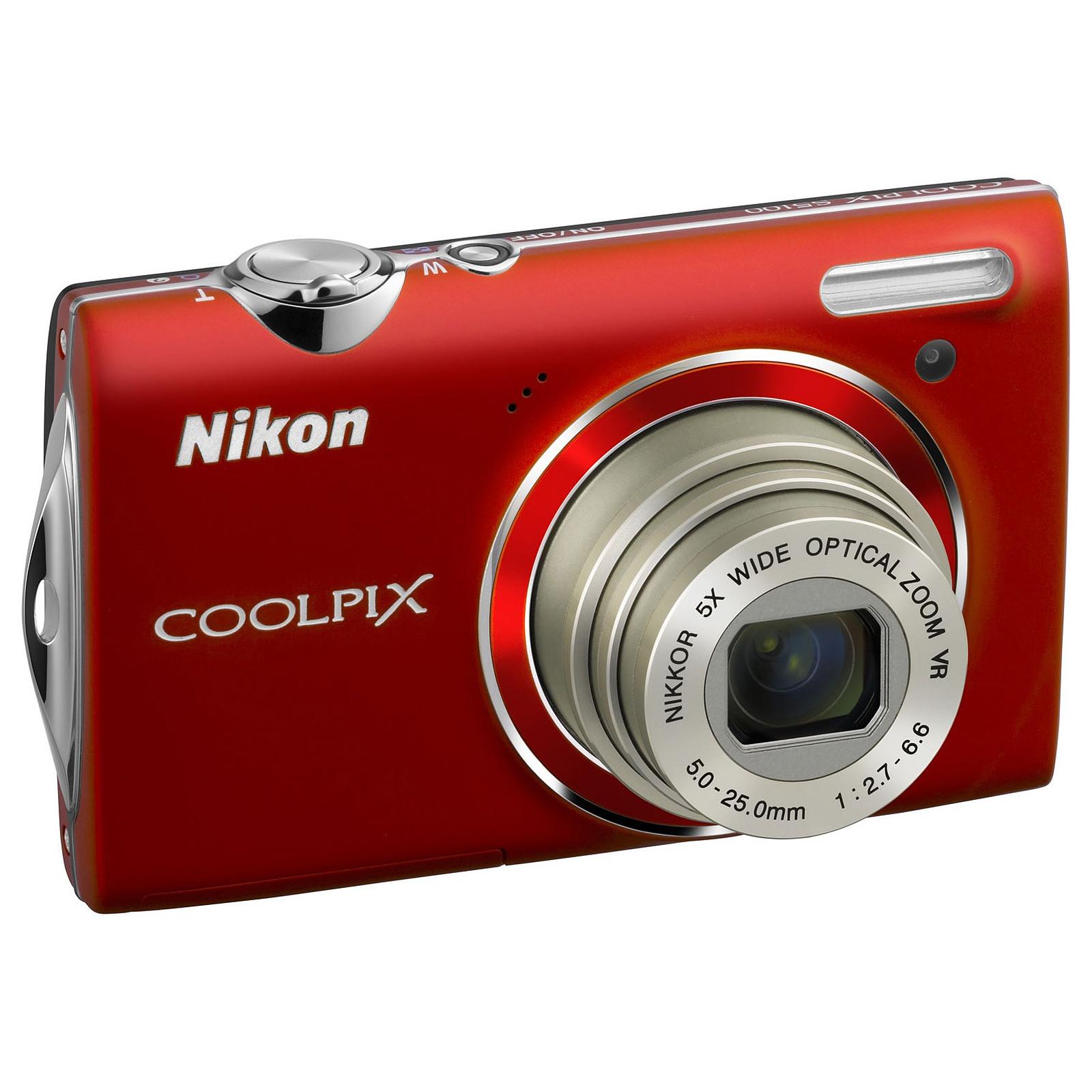 Nikon COOLPIX S5100 Rouge