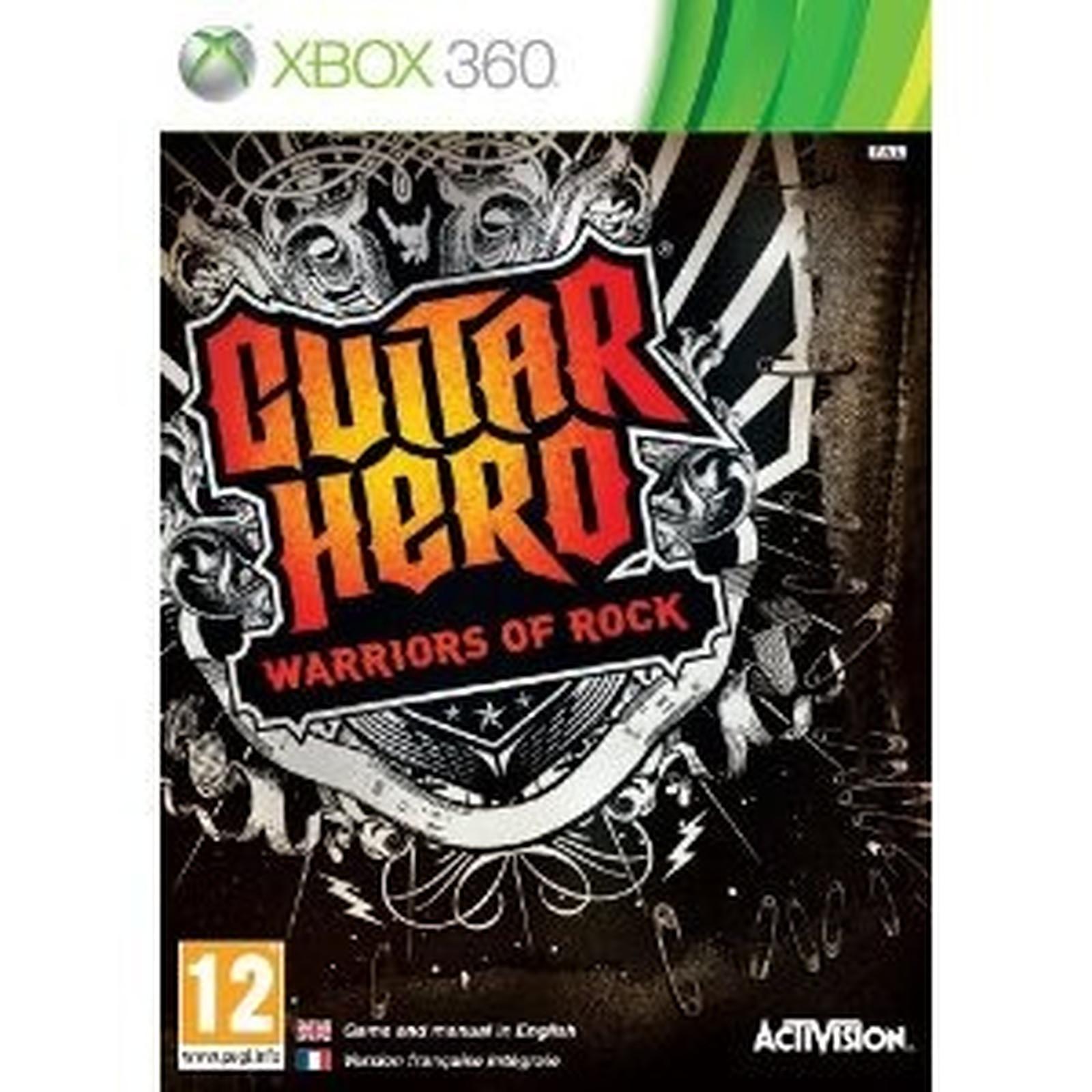 Guitar Hero Warriors of Rock (Xbox 360)