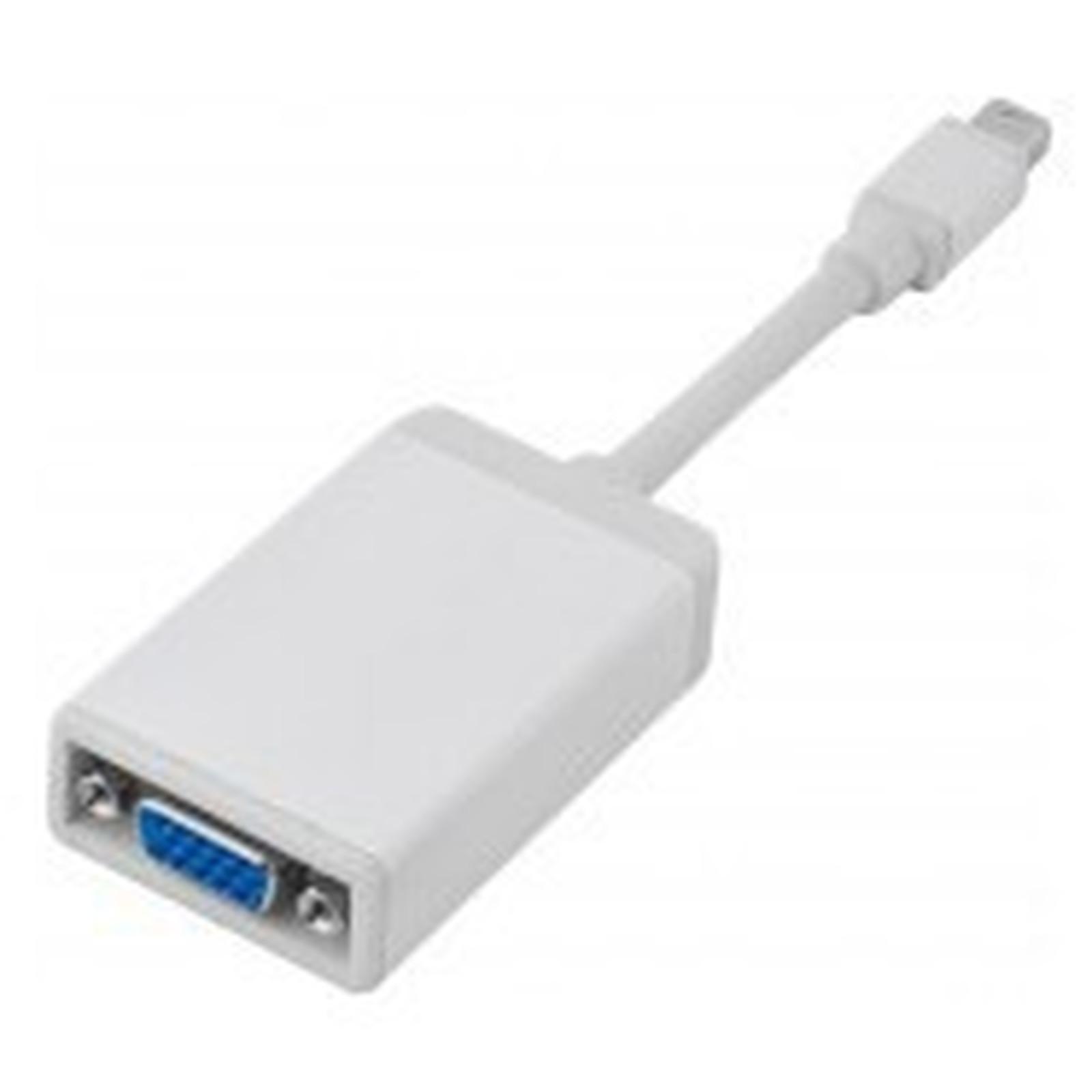Adaptateur actif Mini DisplayPort mâle / VGA femelle (compatible Full HD)
