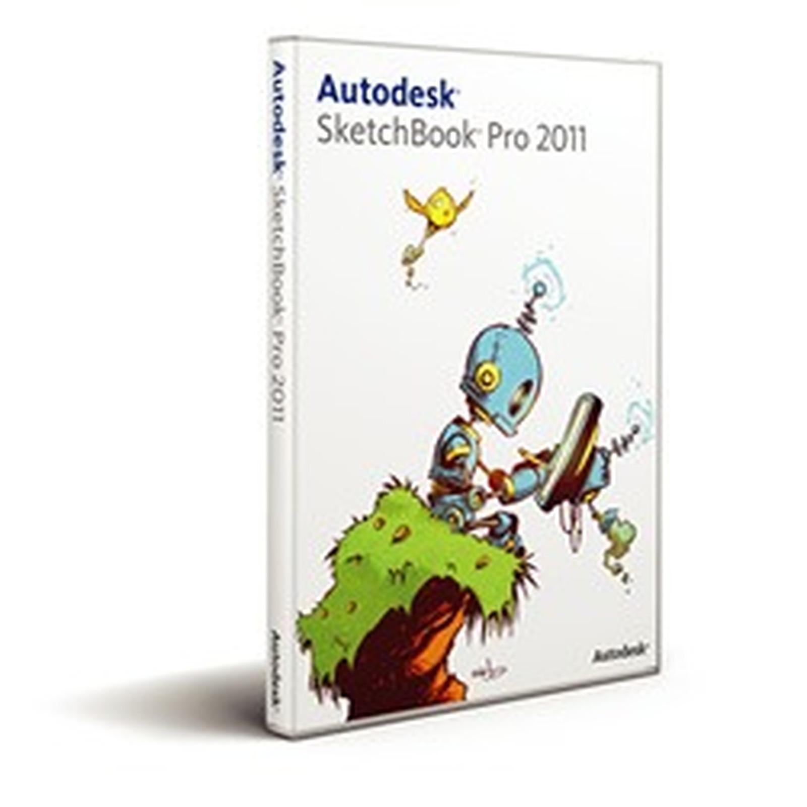 Autodesk SketchBook Pro 2011 (français, WINDOWS/MAC OS)