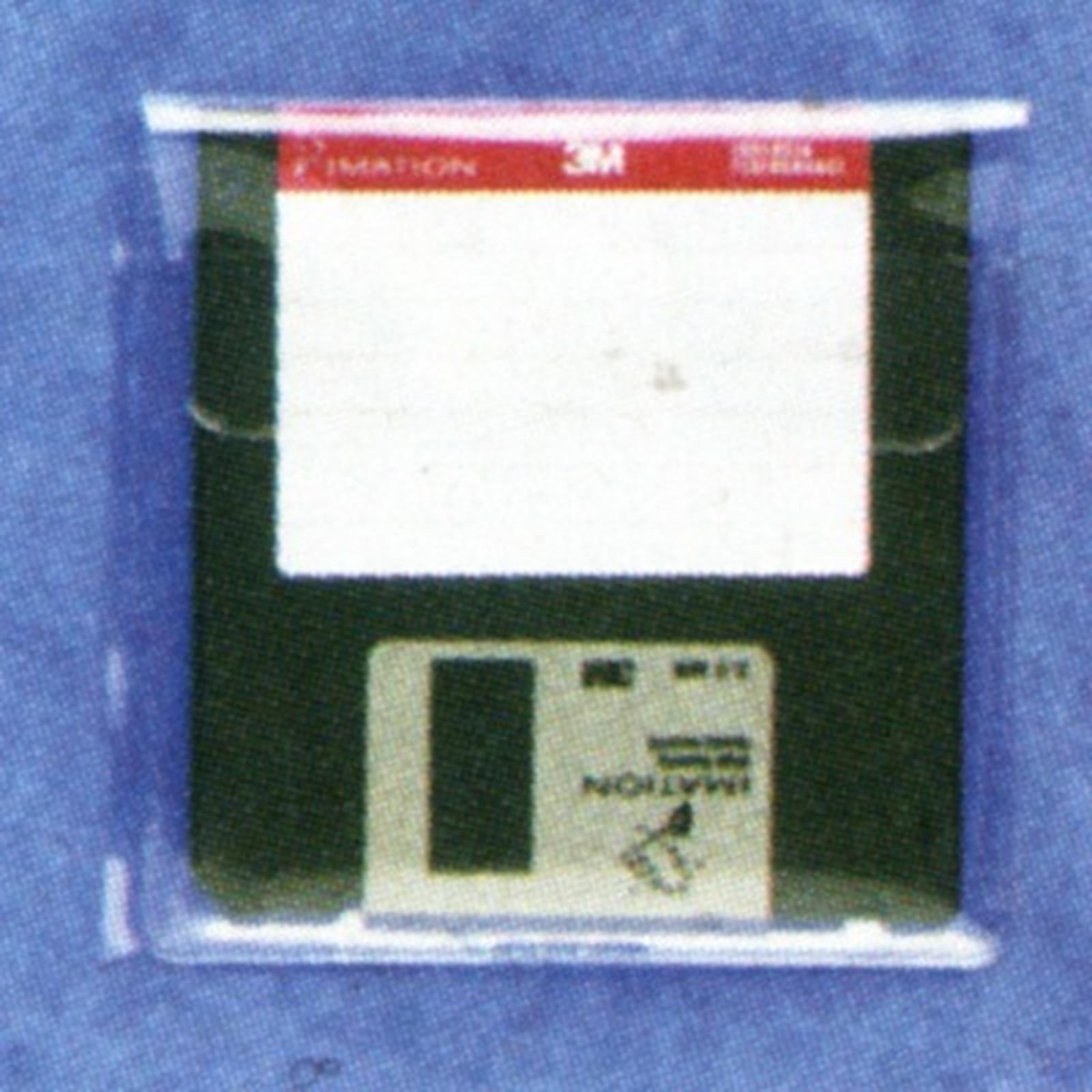 Exacompta 5 Pochettes adhésives pour disquettes