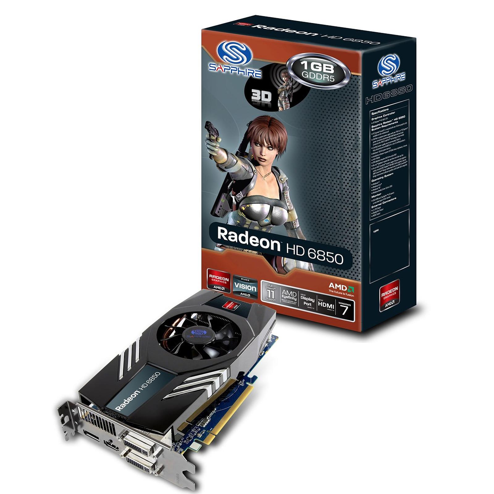Sapphire Radeon HD 6850 1 GB