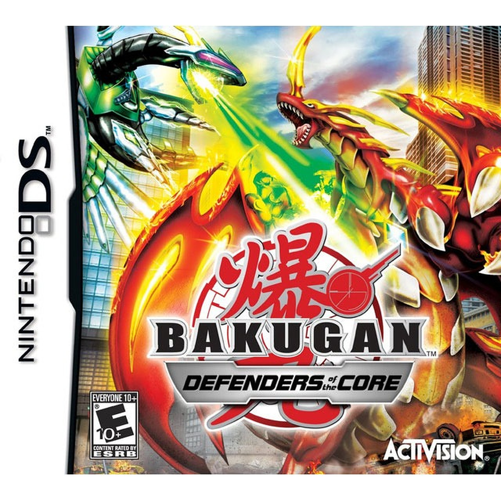 Bakugan Battle Brawlers : Les Protecteurs de la Terre (Nintendo DS)