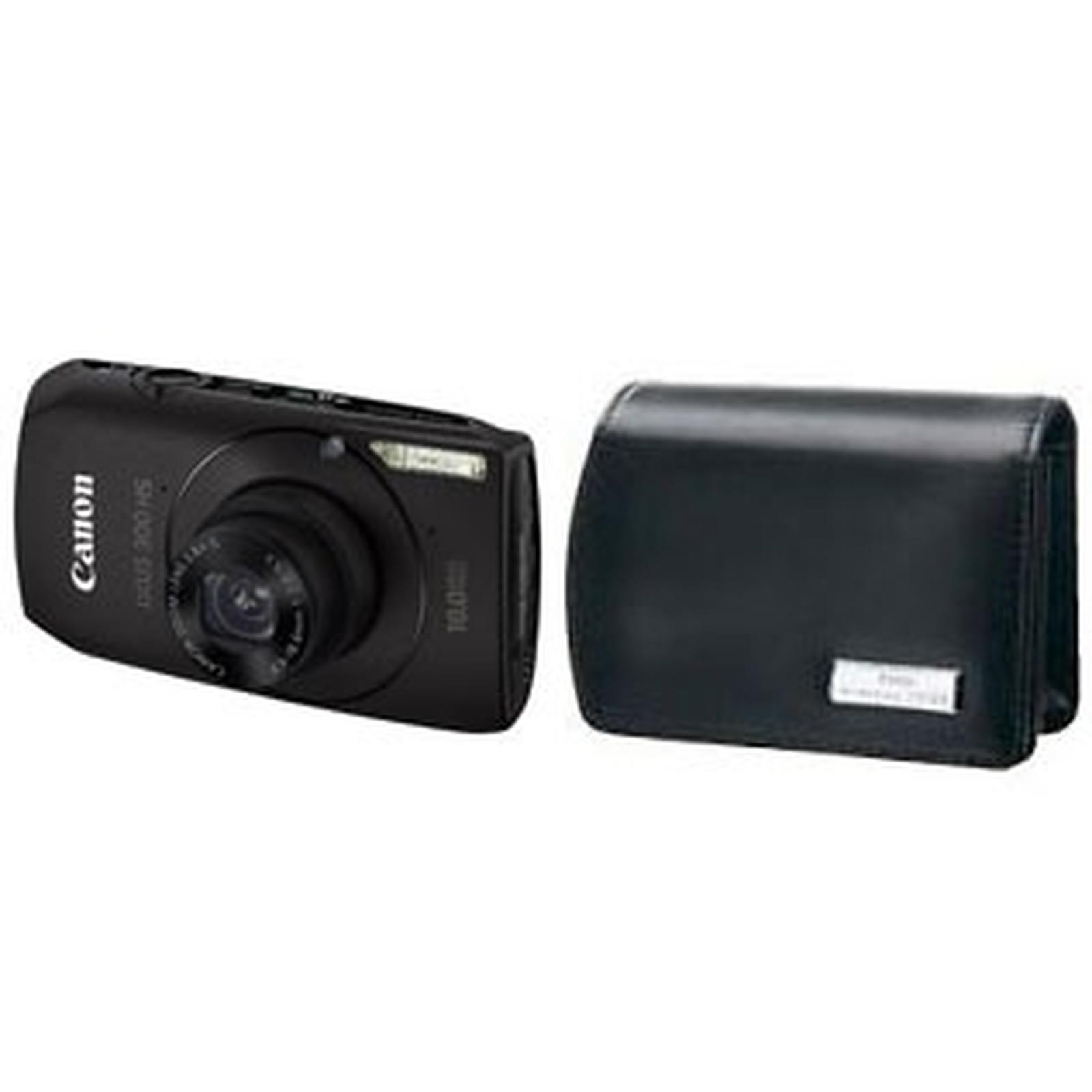 Canon IXUS 300 HS Noir + Housse DCC-70