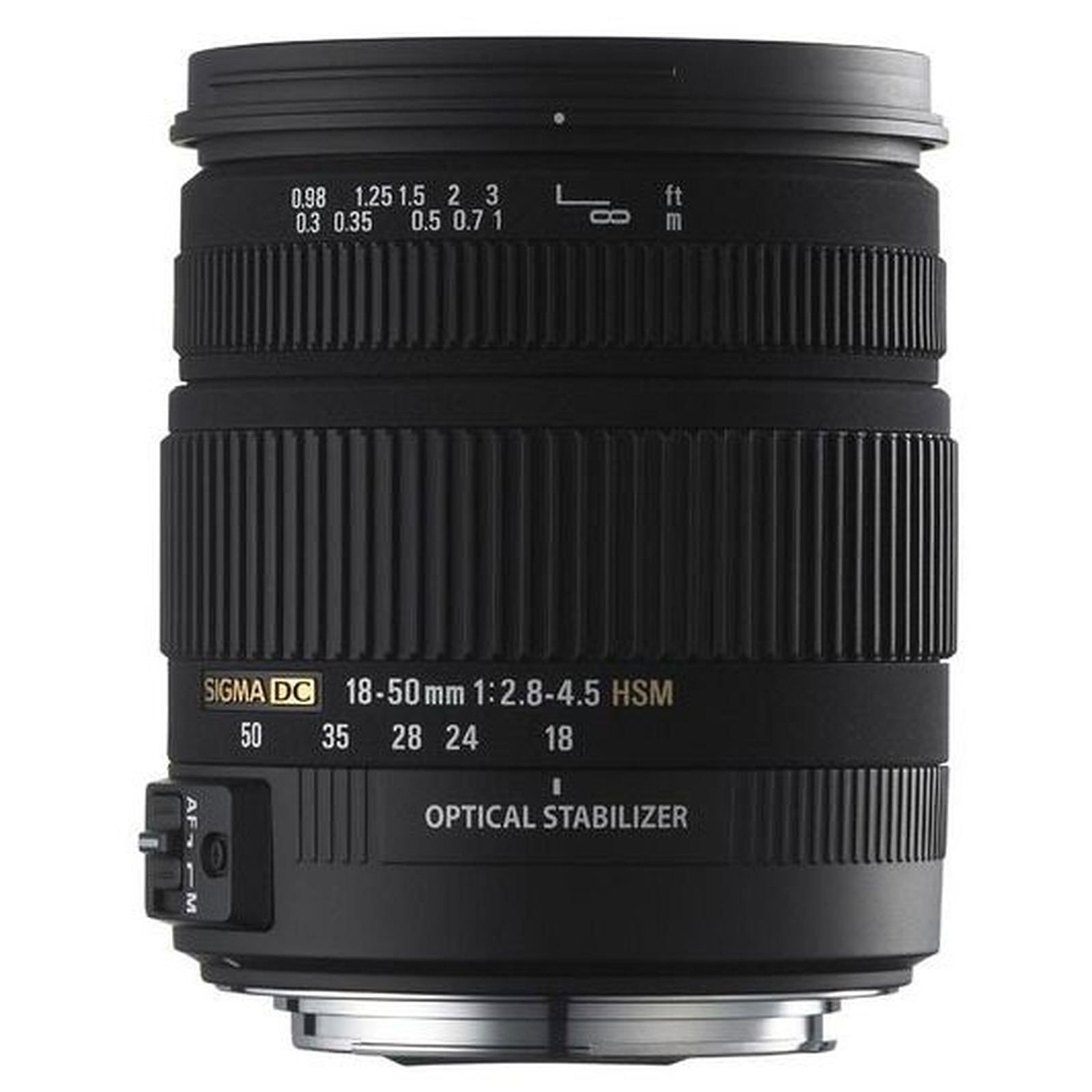 SIGMA 18-50mm F2,8-4,5 DC OS HSM monture Canon