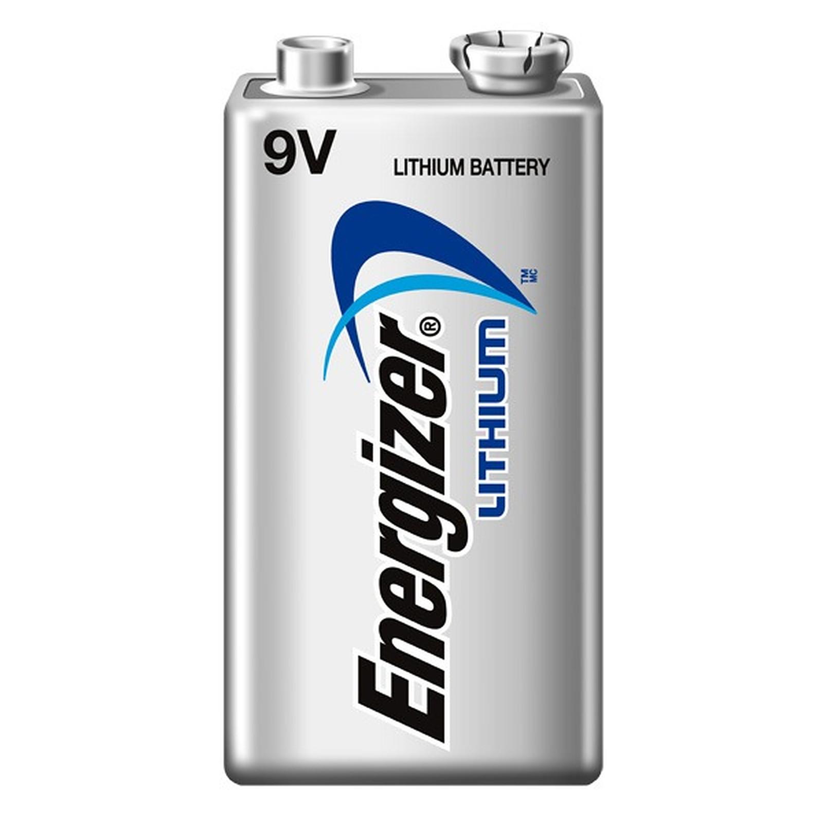 Captivant Energizer Lithium 9V (à Lu0027unité) Pile 9V (6LR61) Au Lithium