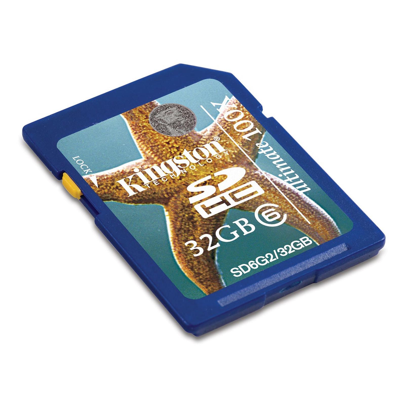 Kingston SDHC Class 6 Ultimate 32 GB