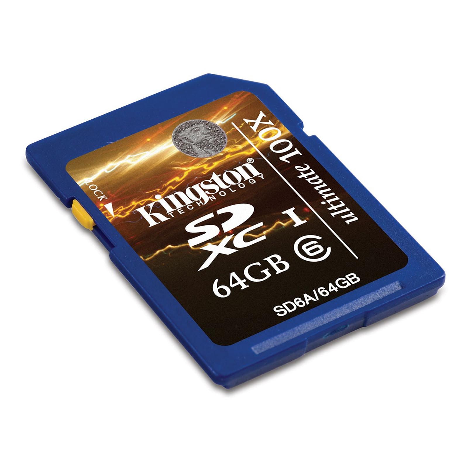 Kingston SDXC Class 6 Ultimate 64 GB