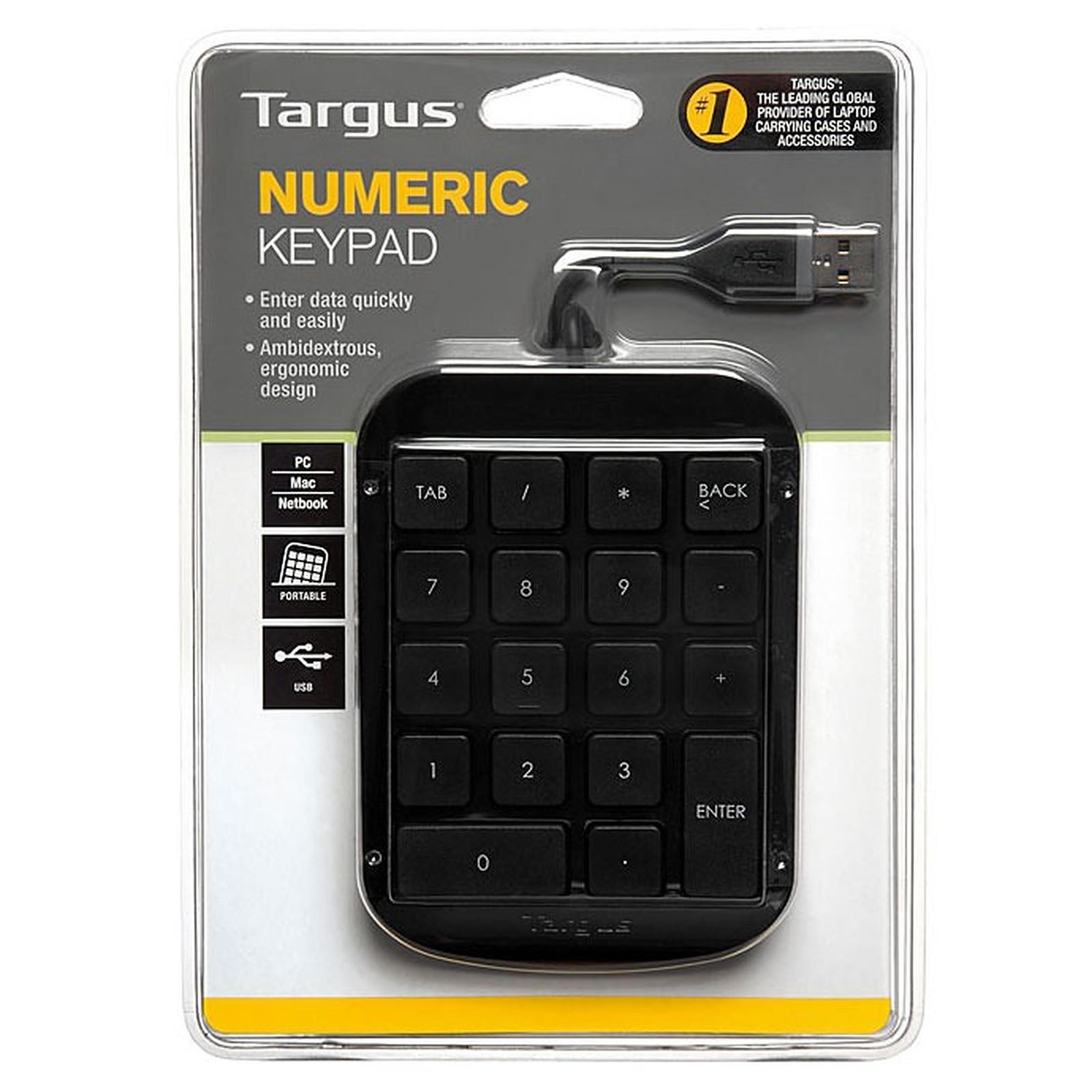 Targus AKP10EU Pavé numérique USB clavier numérique pour