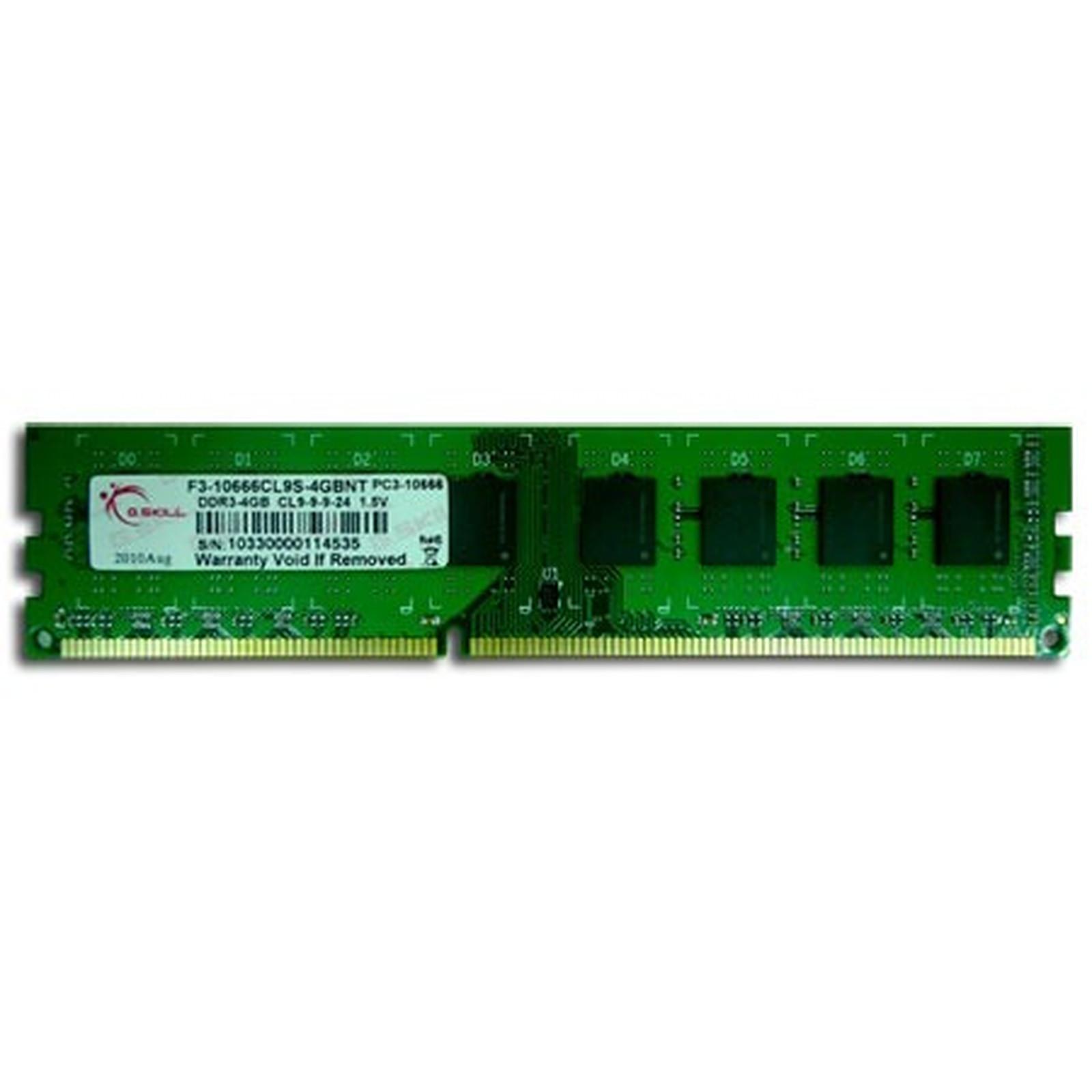 G.Skill NT Series 4 Go DDR3 1333 MHz