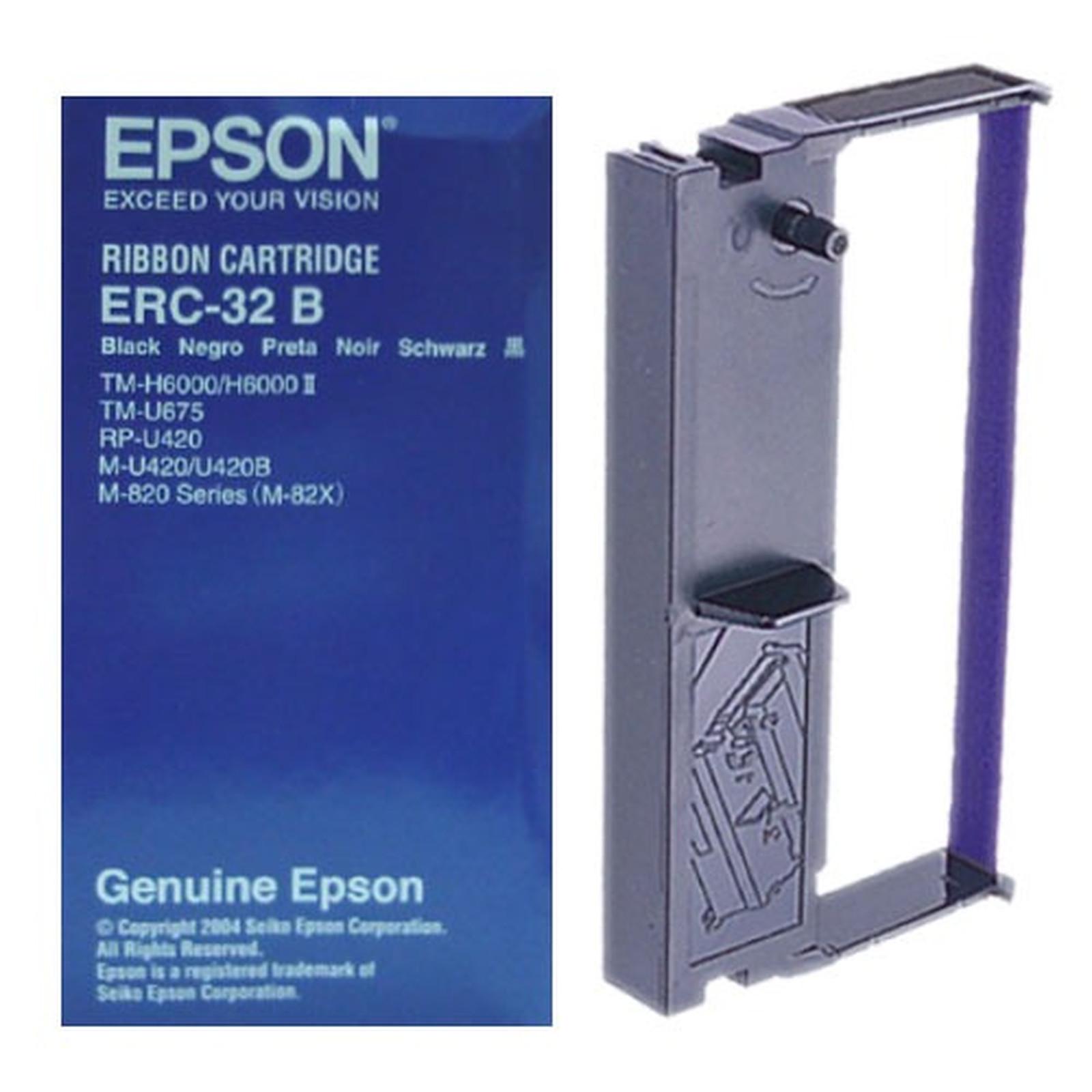 Epson C43S015371 - Ruban Noir