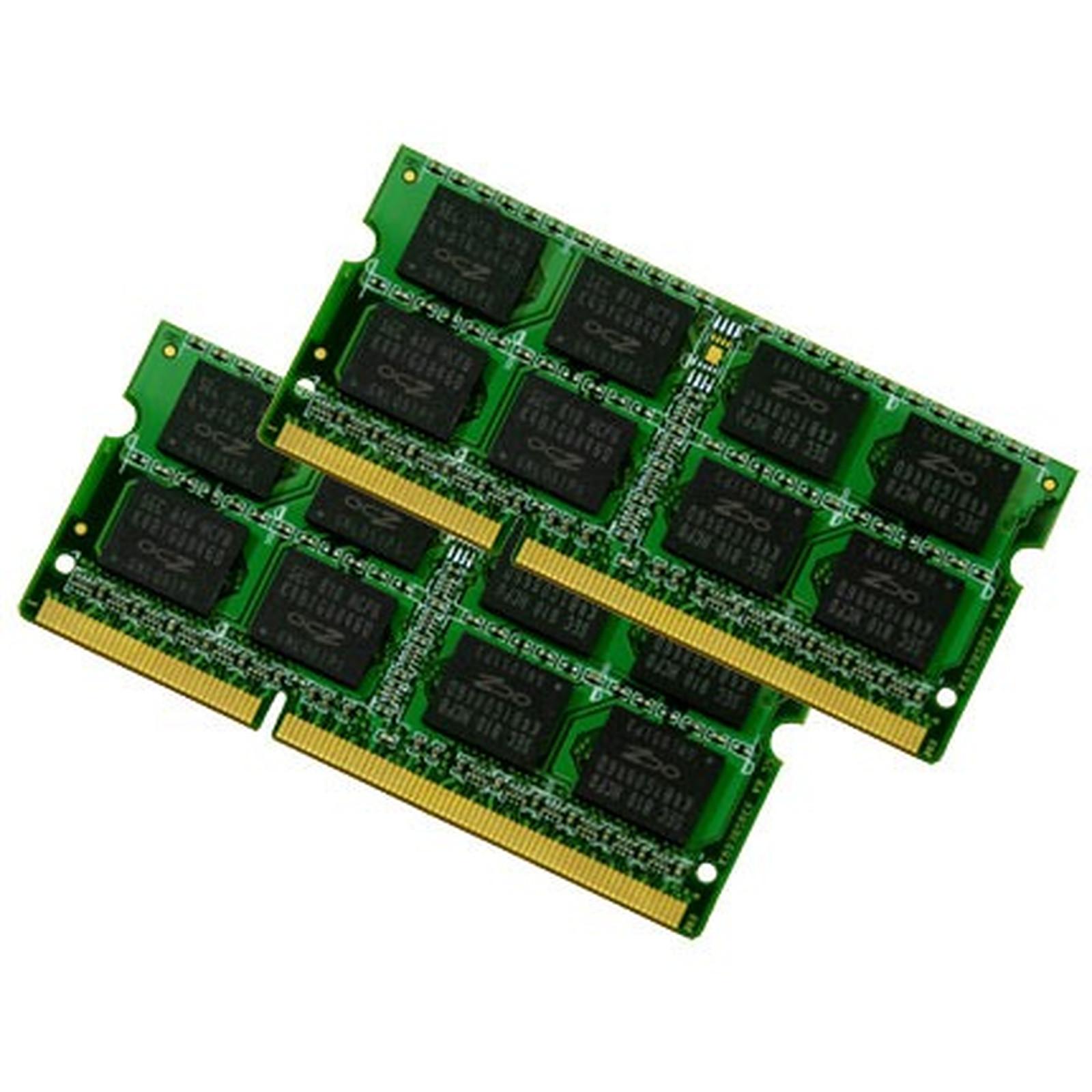OCZ SO-DIMM Value 8 Go (kit 2x 4 Go) DDR3-SDRAM PC10600