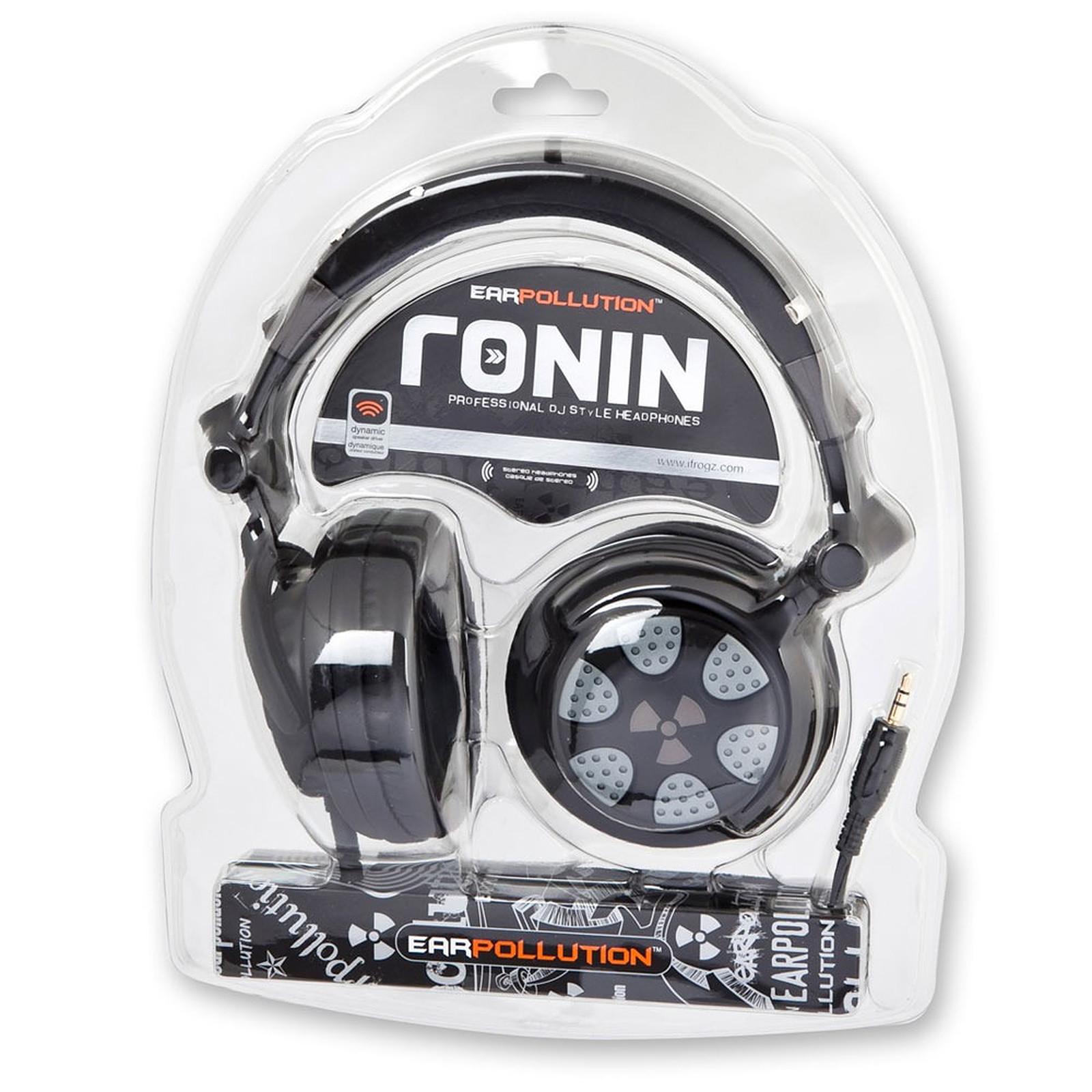 iFrogz EarPollution Ronin Midnight