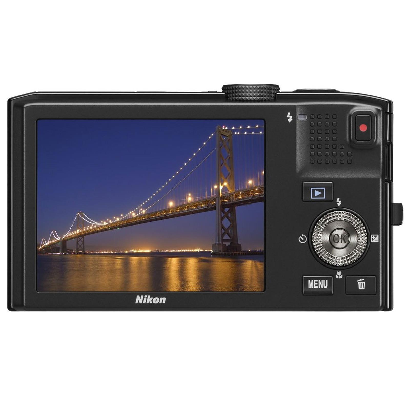 Nikon Coolpix S8100 Rouge