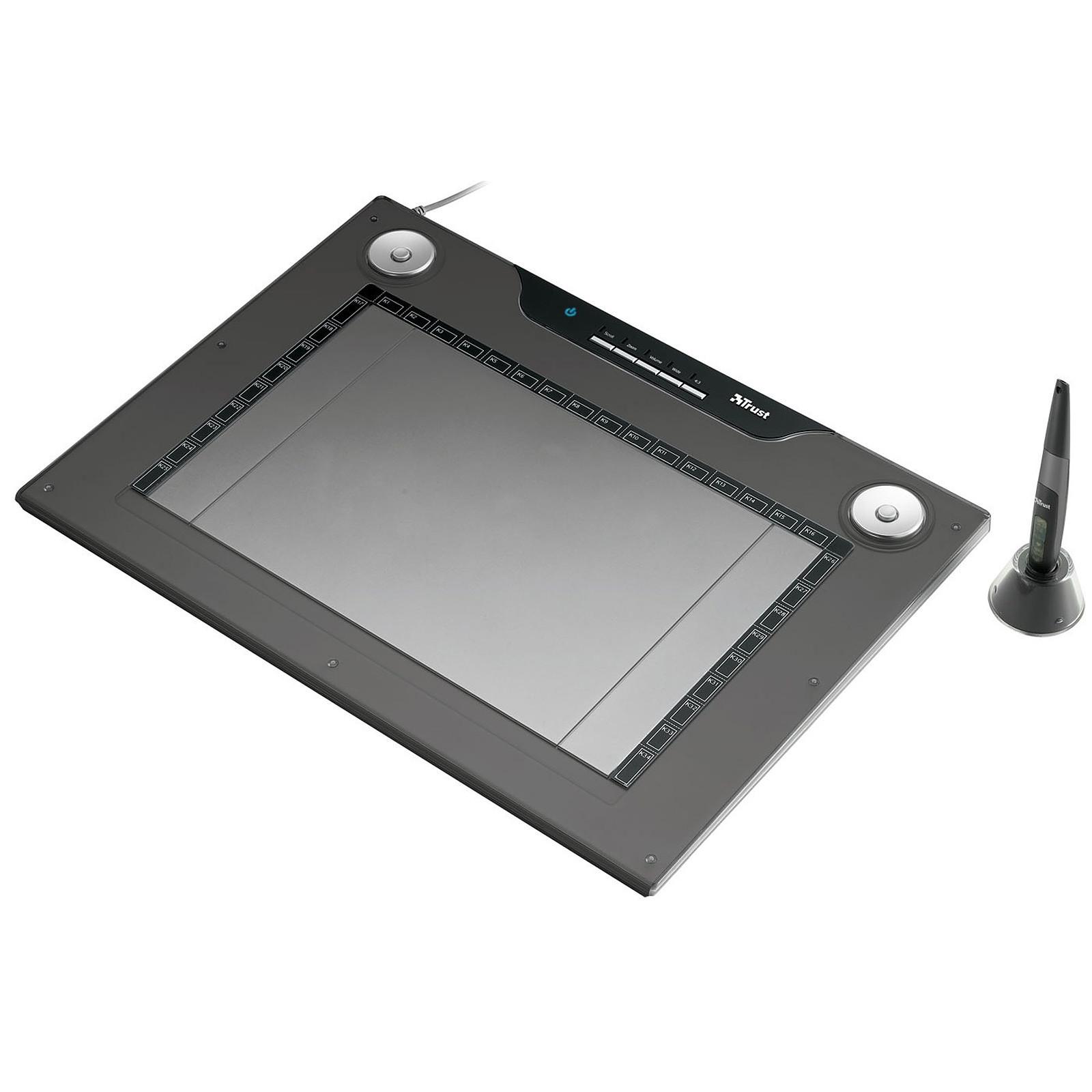Trust Wide Screen Design Tablet