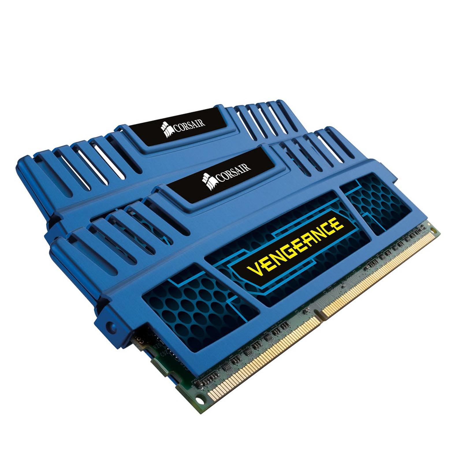Corsair Vengeance Series 8 Go (2x 4 Go) DDR3 1600 MHz CL9 Bleu