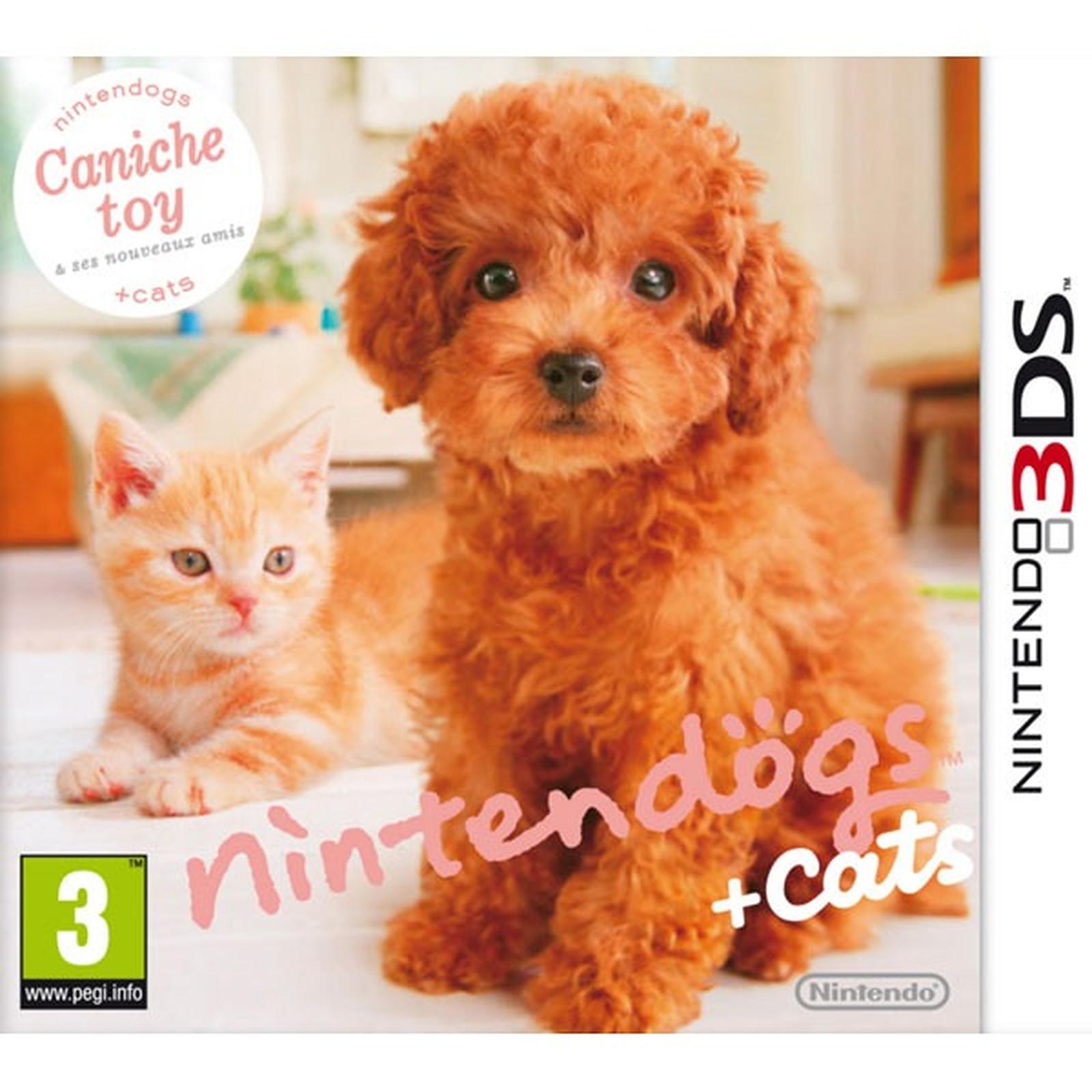 Nintendogs + cats : Caniche toy & ses nouveaux amis (Nintendo 3DS)
