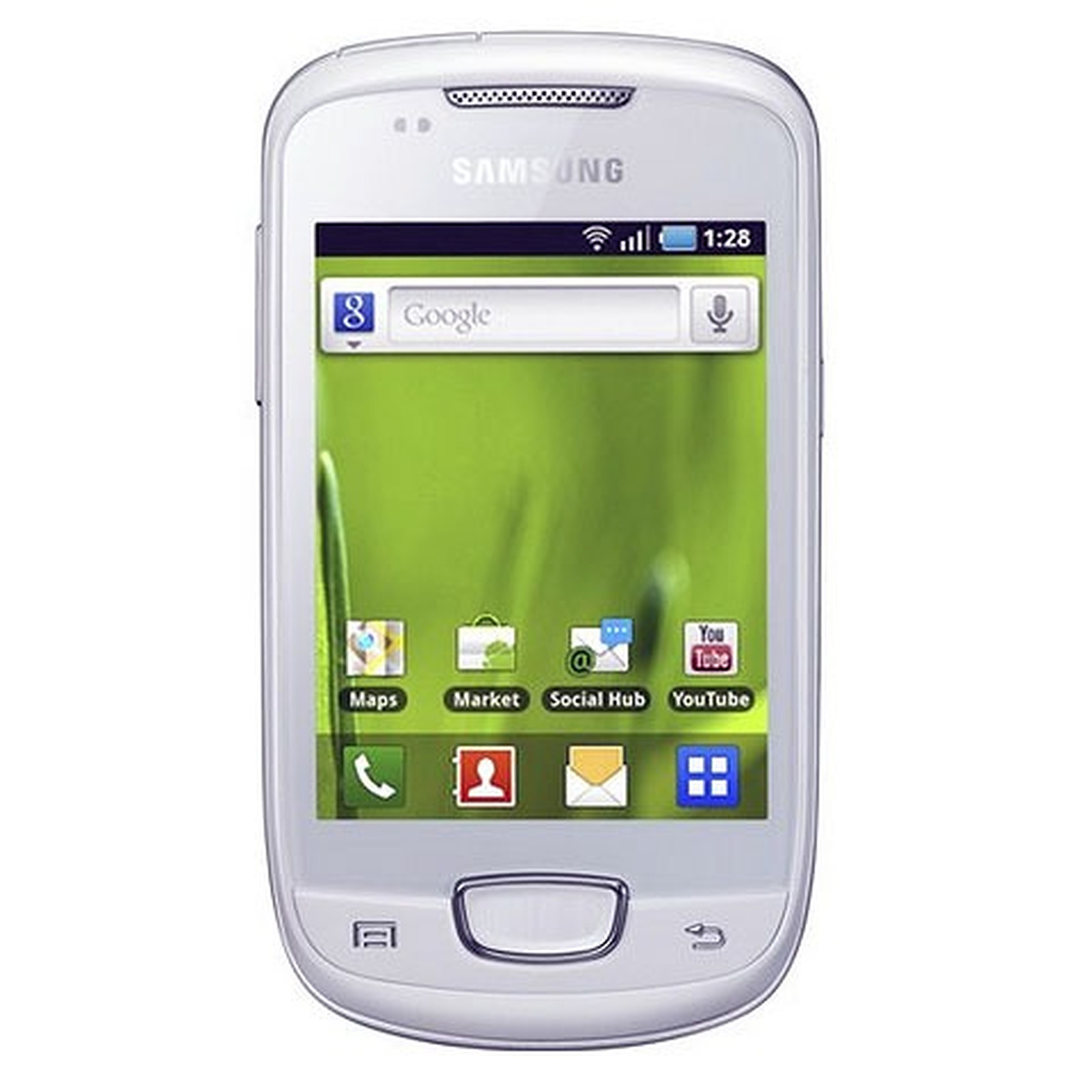 Samsung Galaxy Mini GT-S5570 Blanc