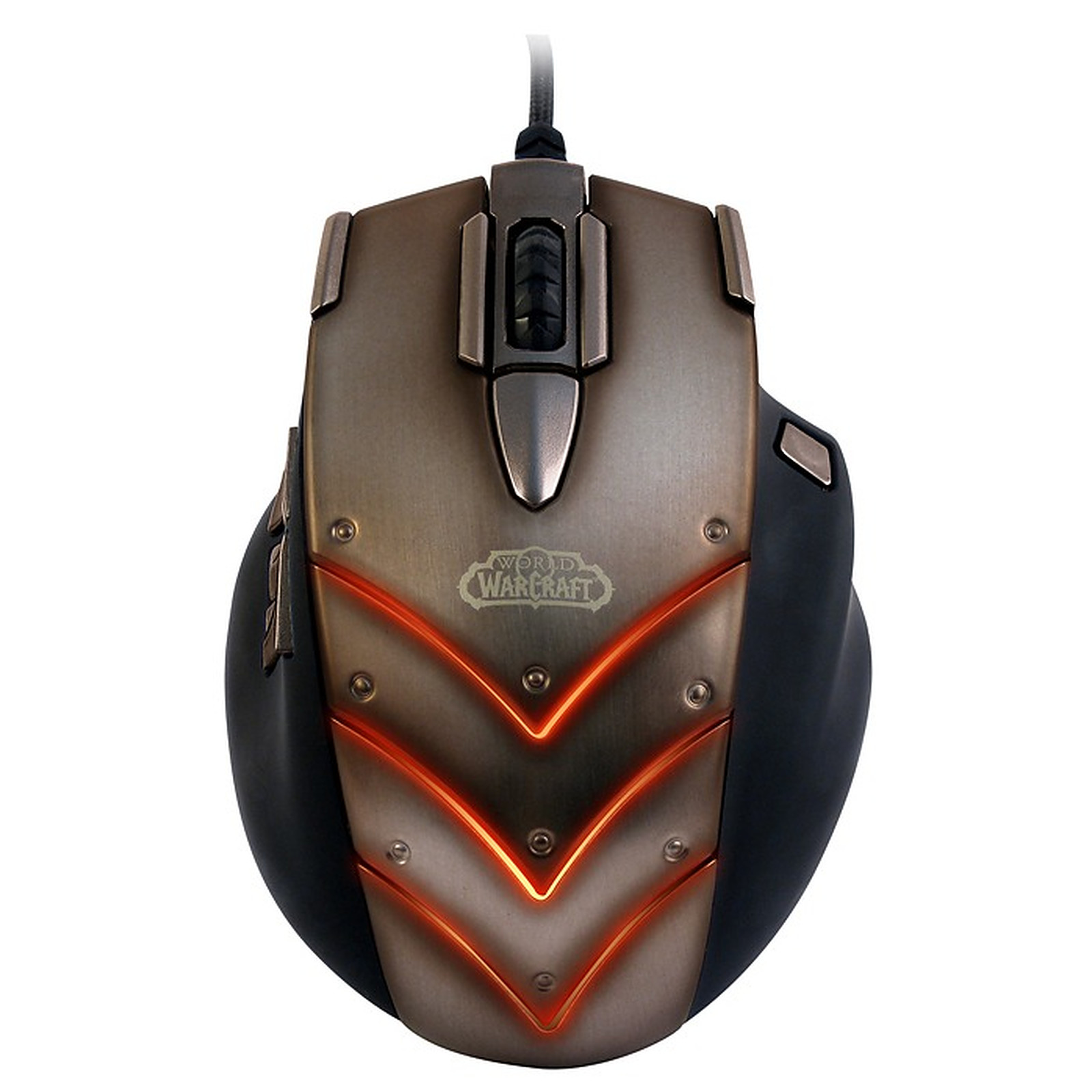 "SteelSeries ""World of Warcraft: Cataclysm"" MMO Gaming Mouse + tapis QcK ""WoW Deathwing"" OFFERT !"