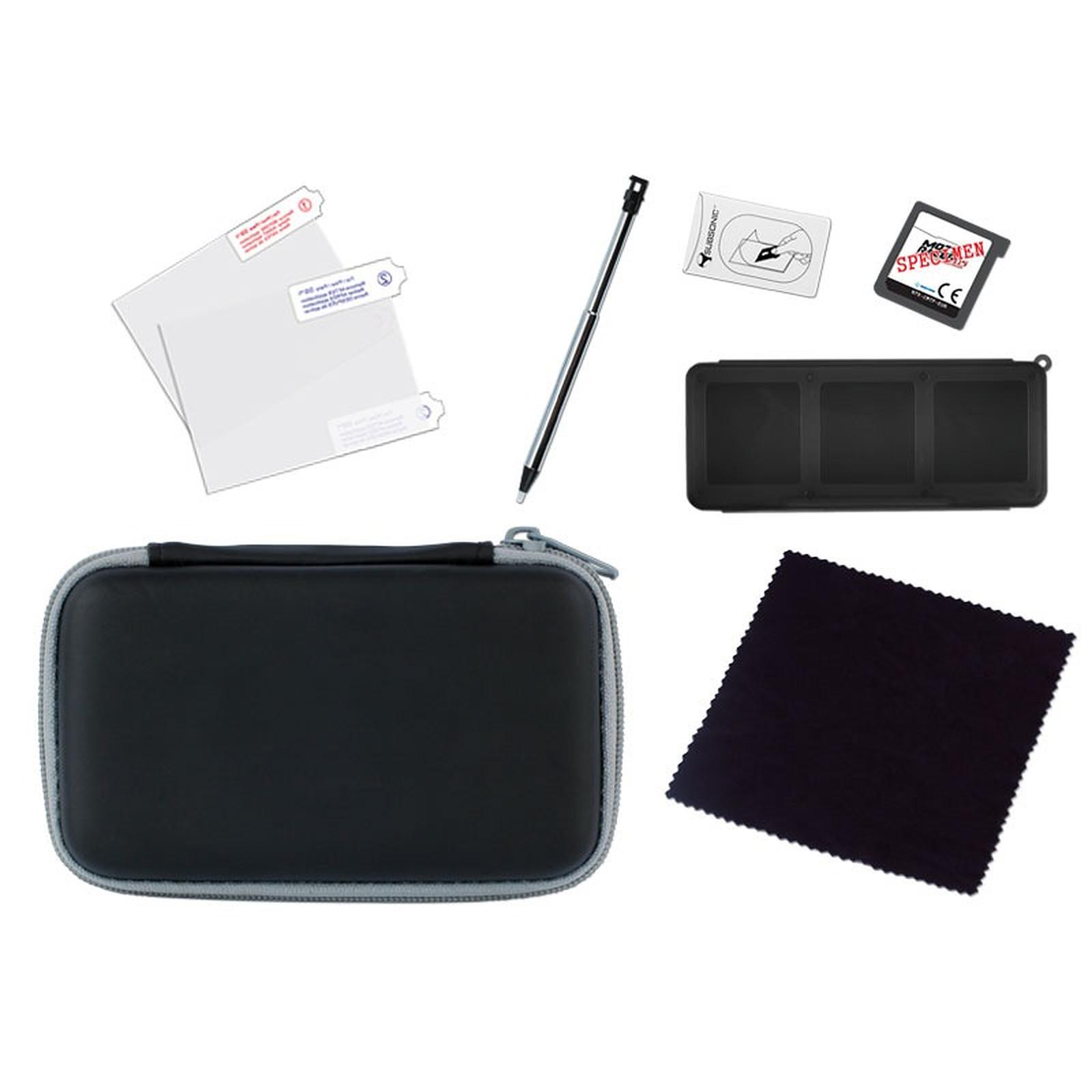Subsonic istart 3d noir accessoires ds et 3ds subsonic for Ecran noir appareil photo 3ds