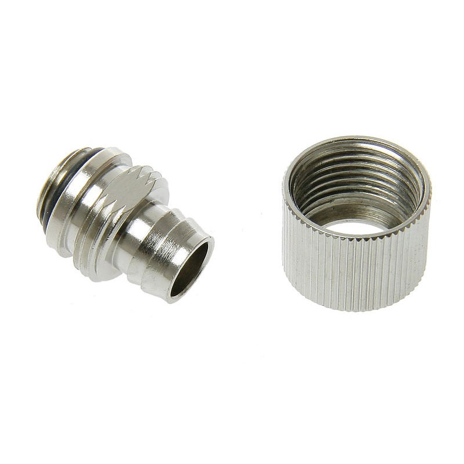 """Connecteur 1/4"""" 13/10 mm compact (coloris argent)"""