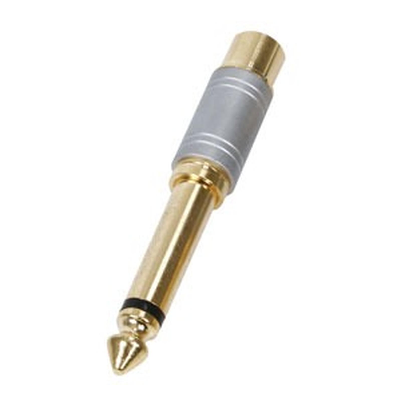 Adaptateur Haute qualité Jack 6.35 mm mâle / RCA femelle