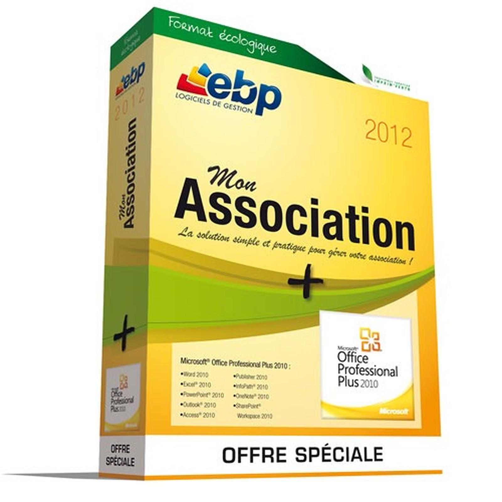 EBP Mon Association 2012 + Microsoft Office Professionnel Plus 2010
