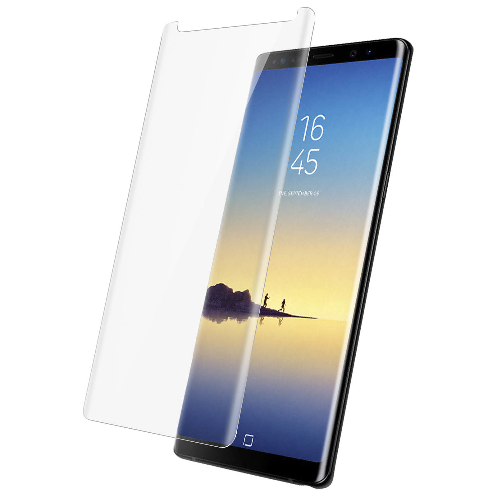 Avizar Film verre trempé Transparent pour Samsung Galaxy Note 8