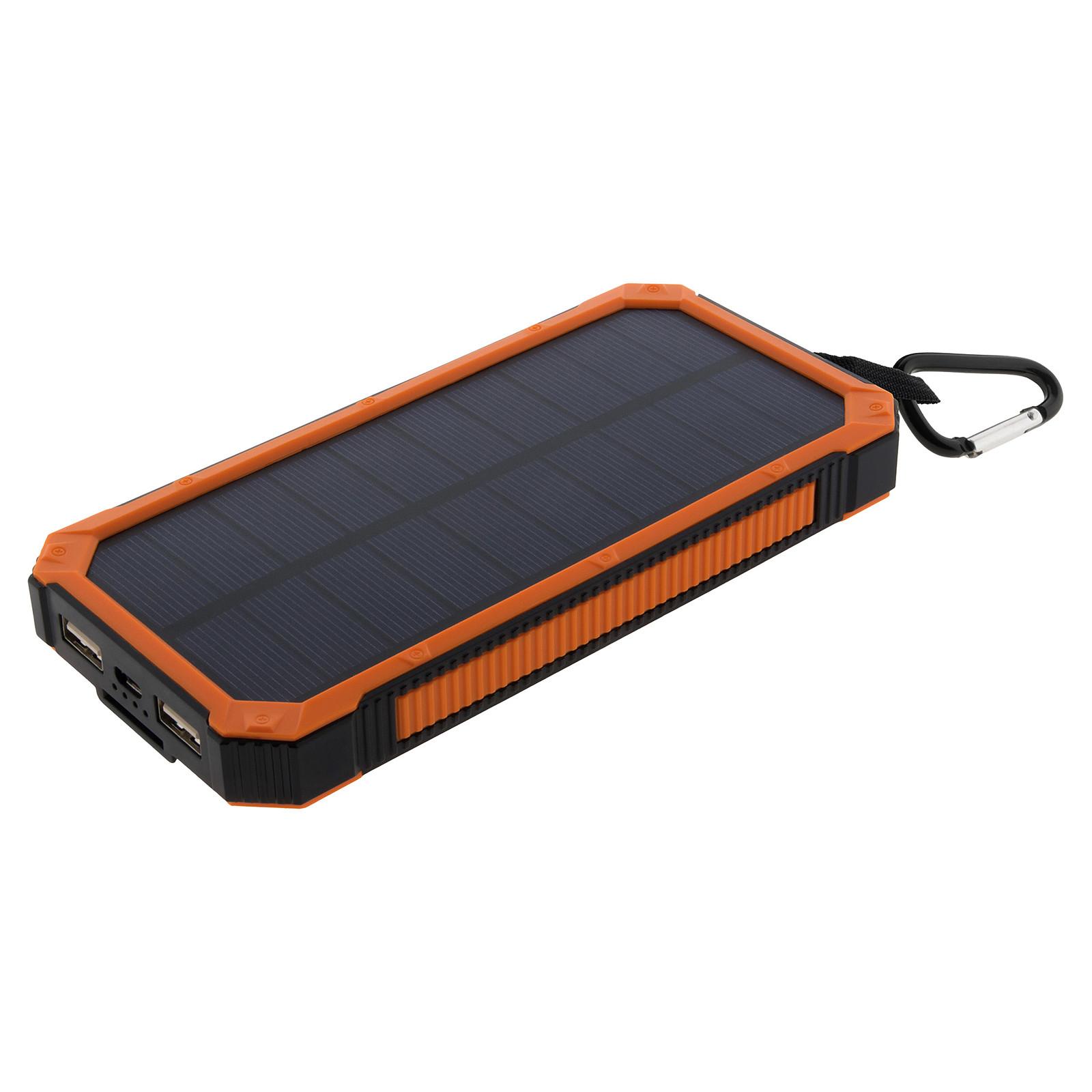 Zenitech 199908 Chargeur Powerbank de secours solaire 10 000 mAh
