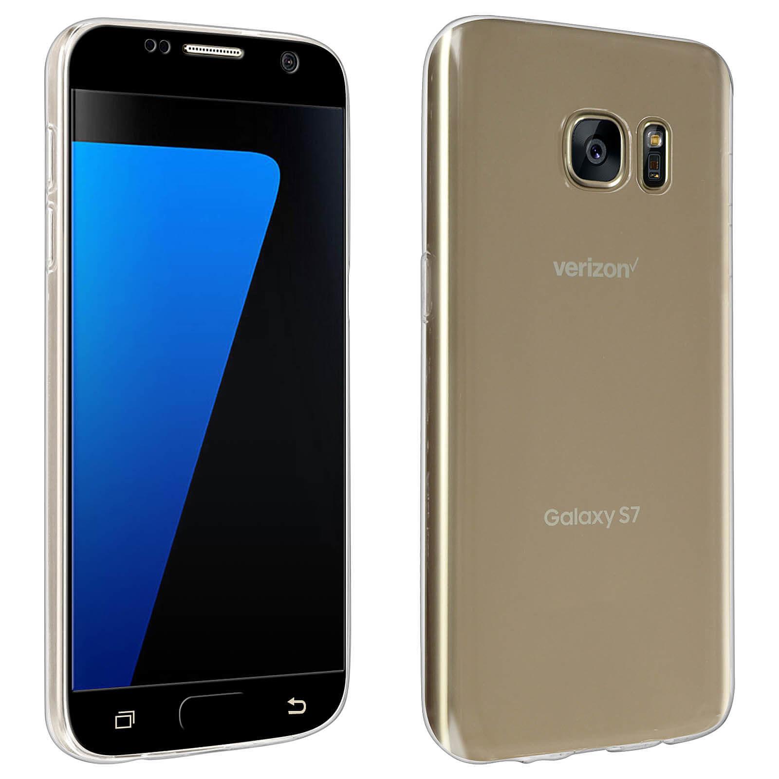 Avizar Pack protection Noir pour Samsung Galaxy S7