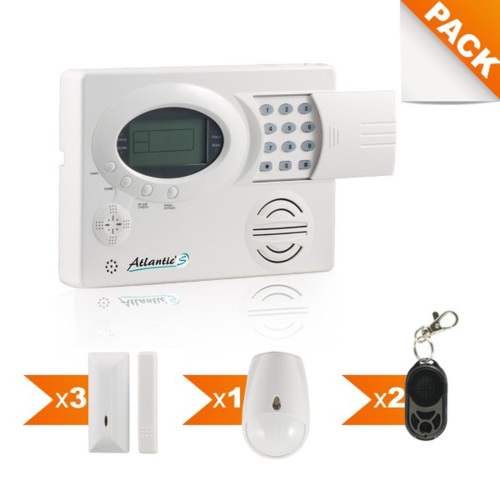 Atlantic'S Pack alarme sans fil Kit 2