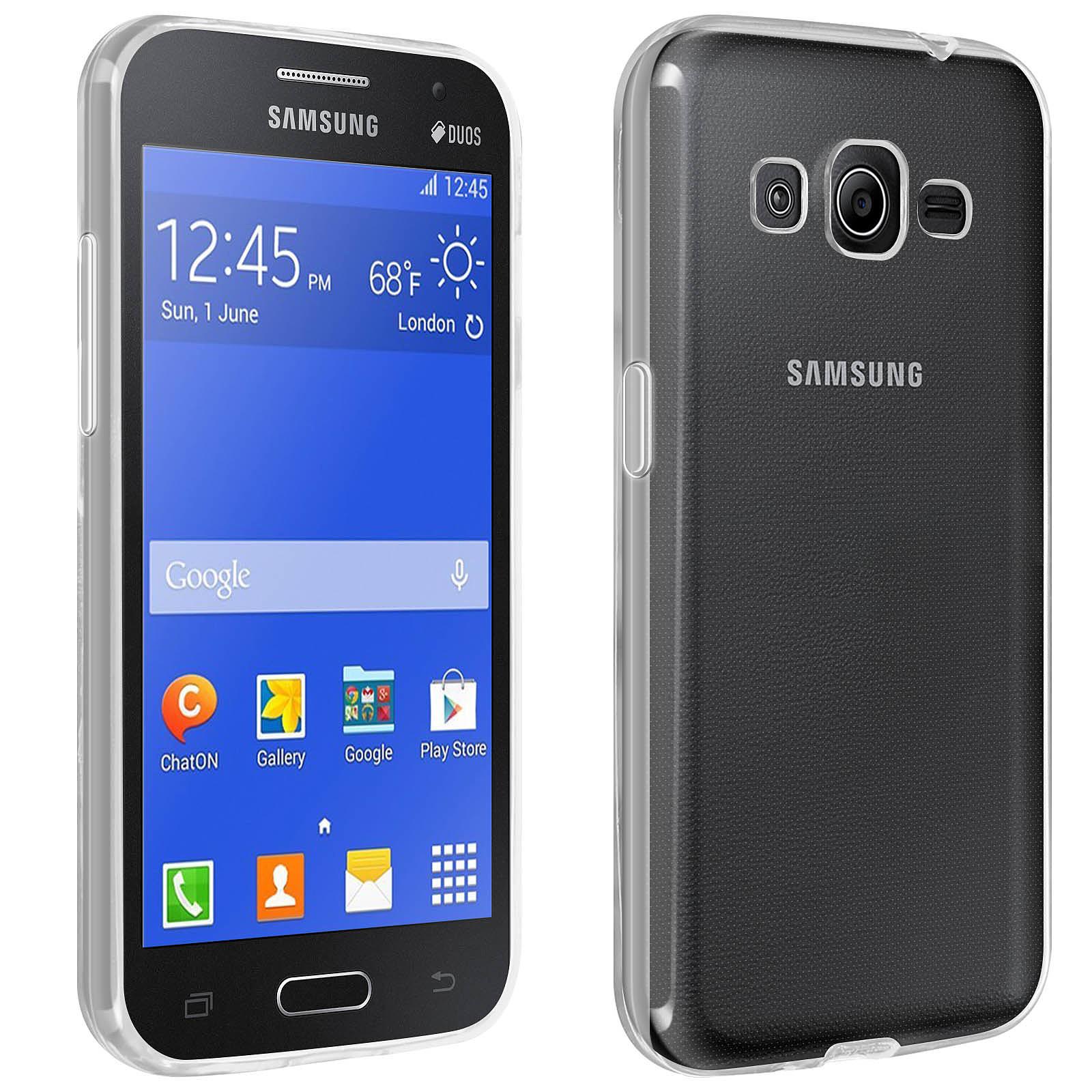 Avizar Coque Transparent pour Samsung Galaxy Core 2 , Samsung Galaxy Core 2 Dual , Samsung Galaxy Core Prime , Samsung Galaxy Core Prime VE