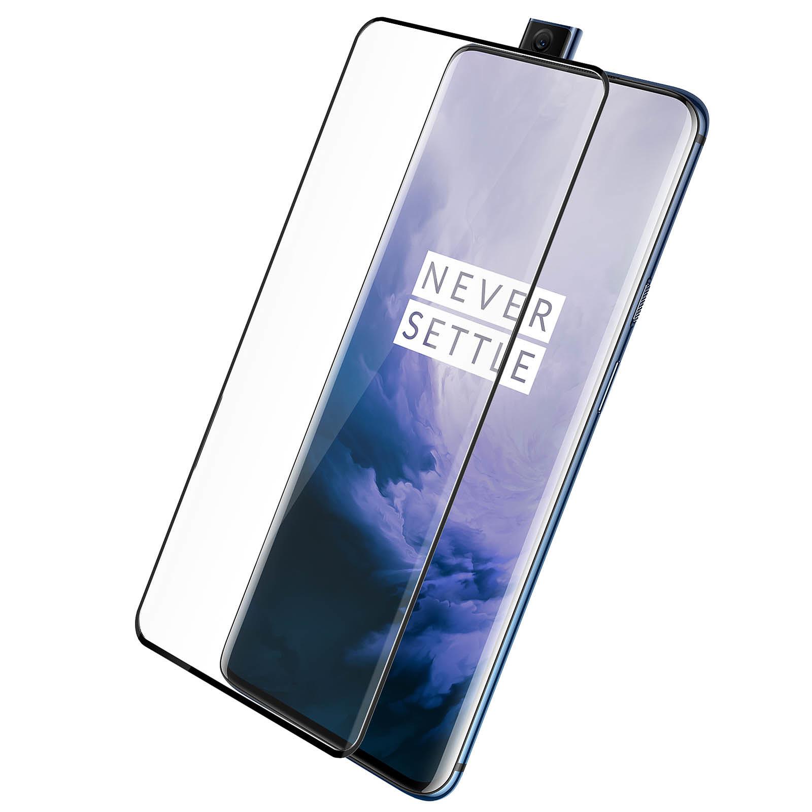 Avizar Film verre trempé Noir pour Oneplus 7 Pro, Oneplus 7T Pro