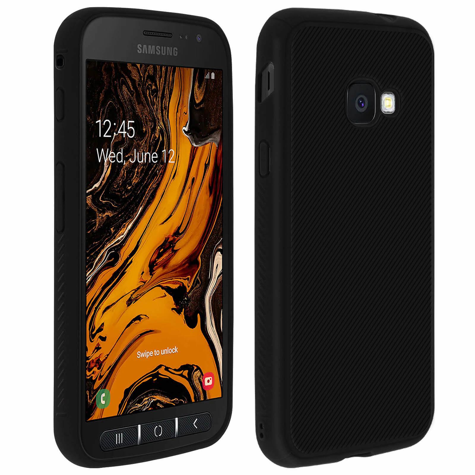Avizar Coque Noir pour Samsung Galaxy Xcover 4 , Samsung Galaxy Xcover 4s