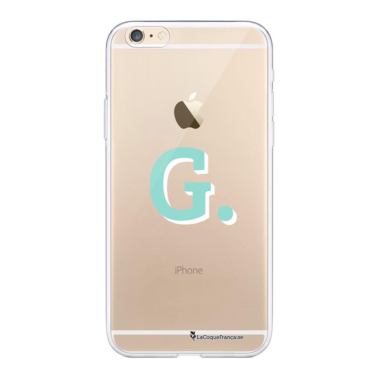 LA COQUE FRANCAISE Coque iPhone 6 Plus / 6S Plus 360 intégrale transparente Initiale G Tendance