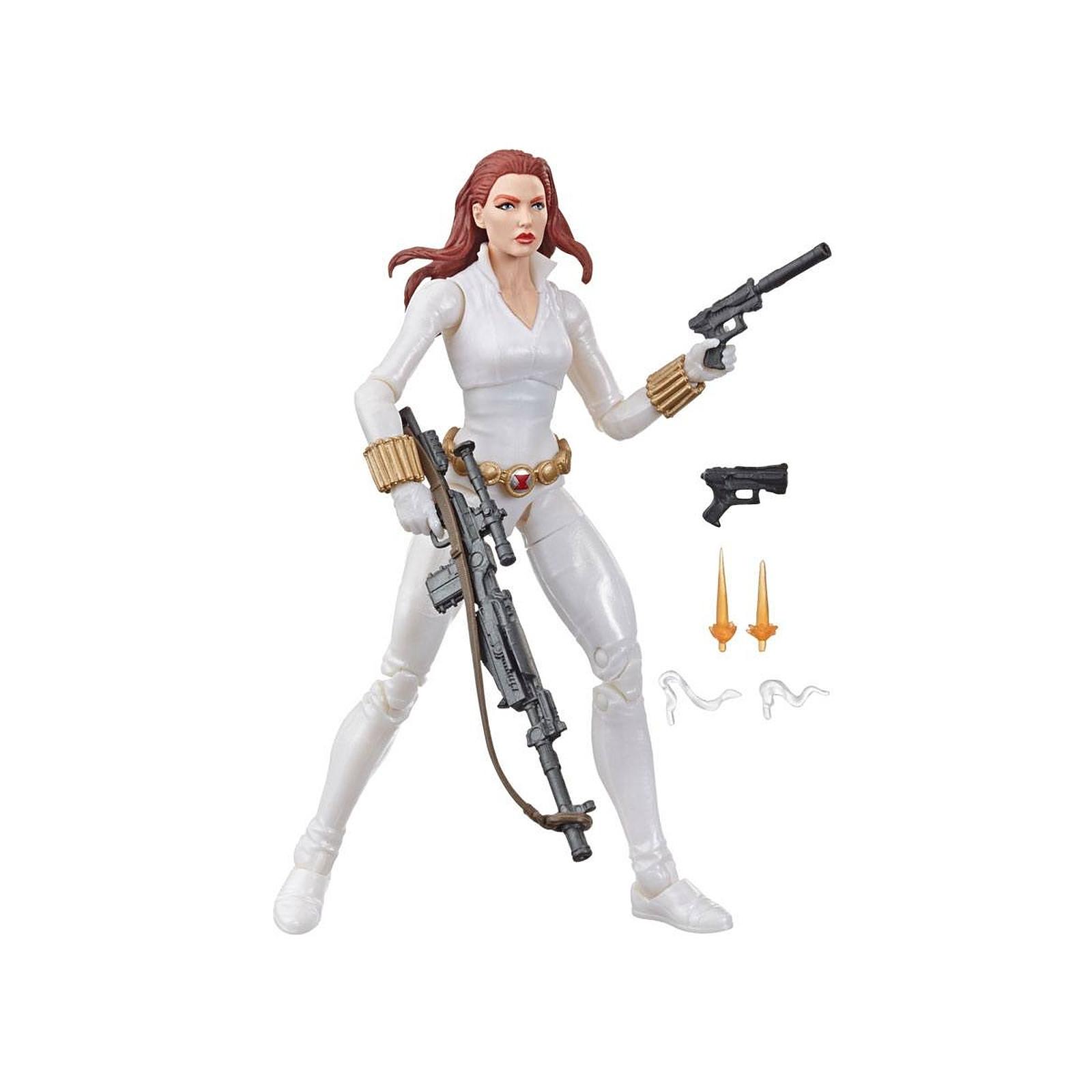 Marvel Legends Series - Figurine Black Widow White Suit Deadly Origin 15 cm