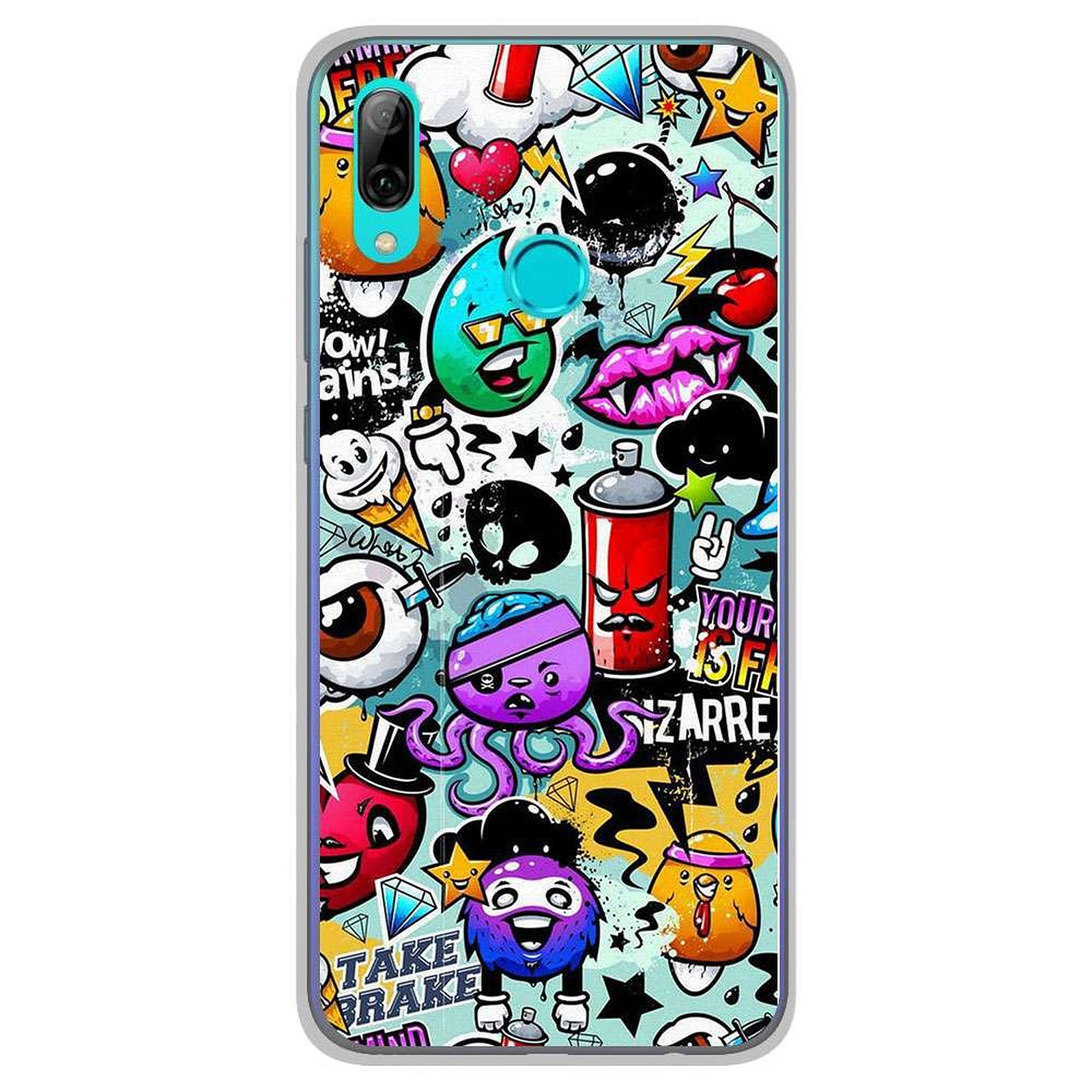 coque tel huawei p smart