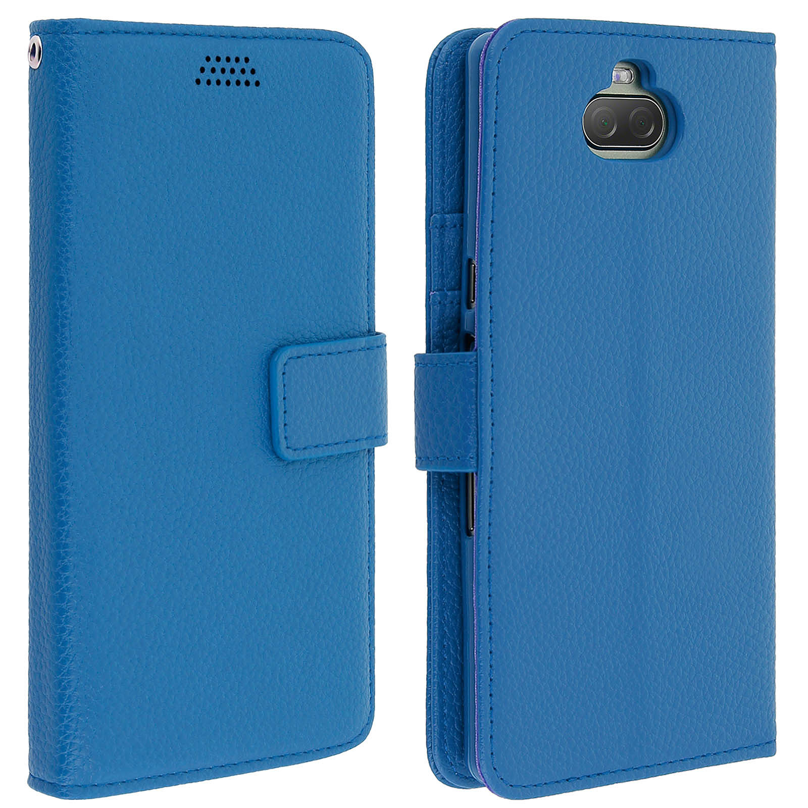 Avizar Etui folio Bleu pour Sony Xperia 10