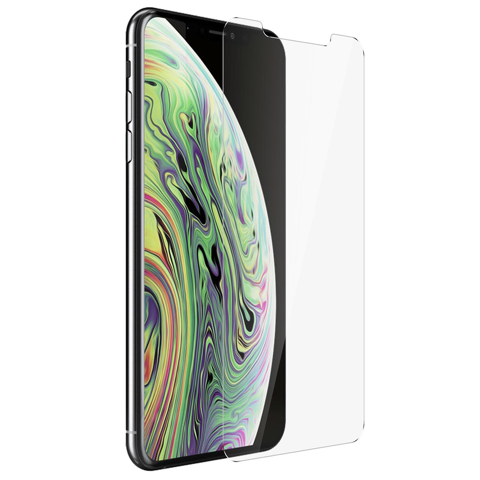 Avizar Film verre trempé Transparent pour Apple iPhone XS Max