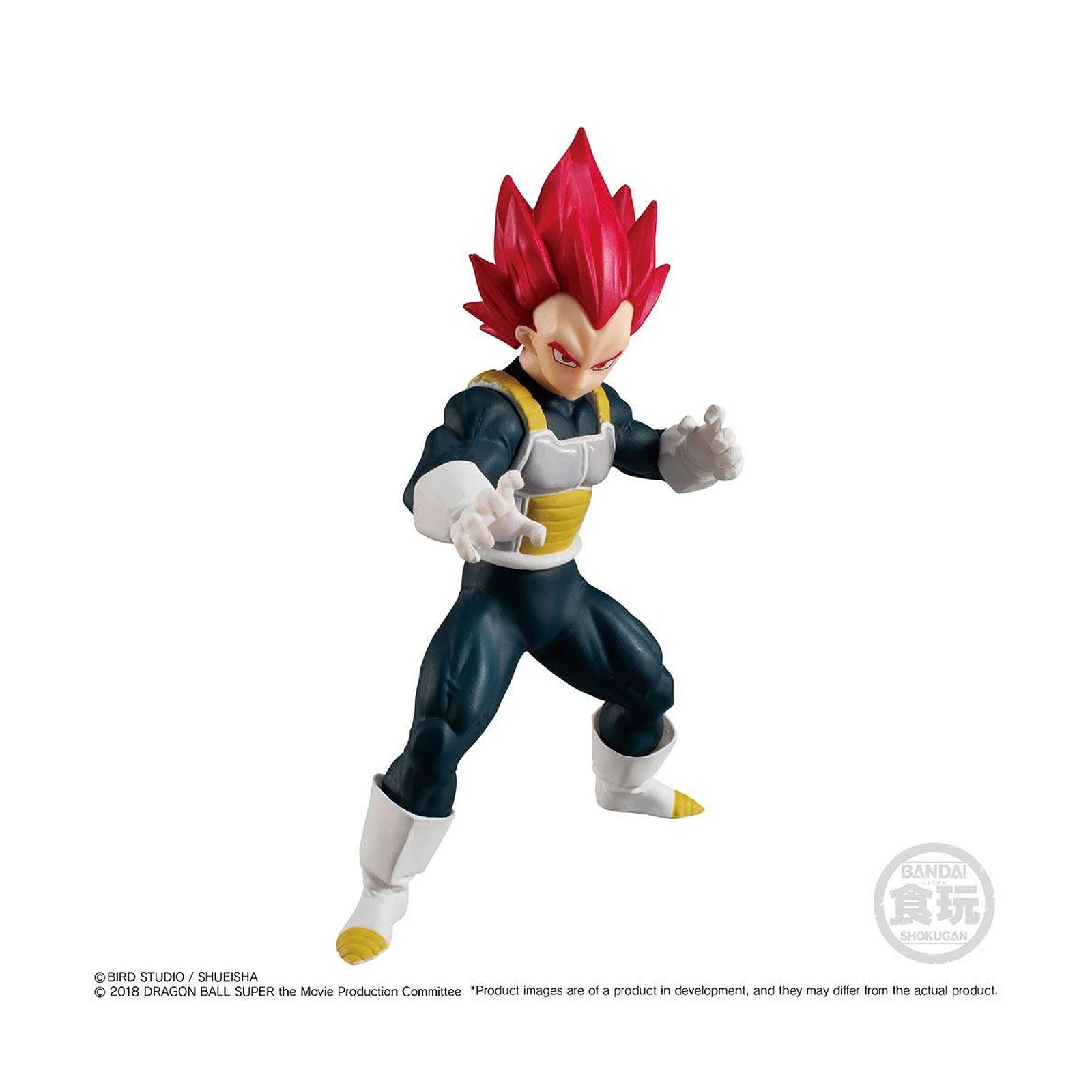 Dragon Ball Super - Figurine Styling Collection Super Saiyan God Vegeta 11 cm